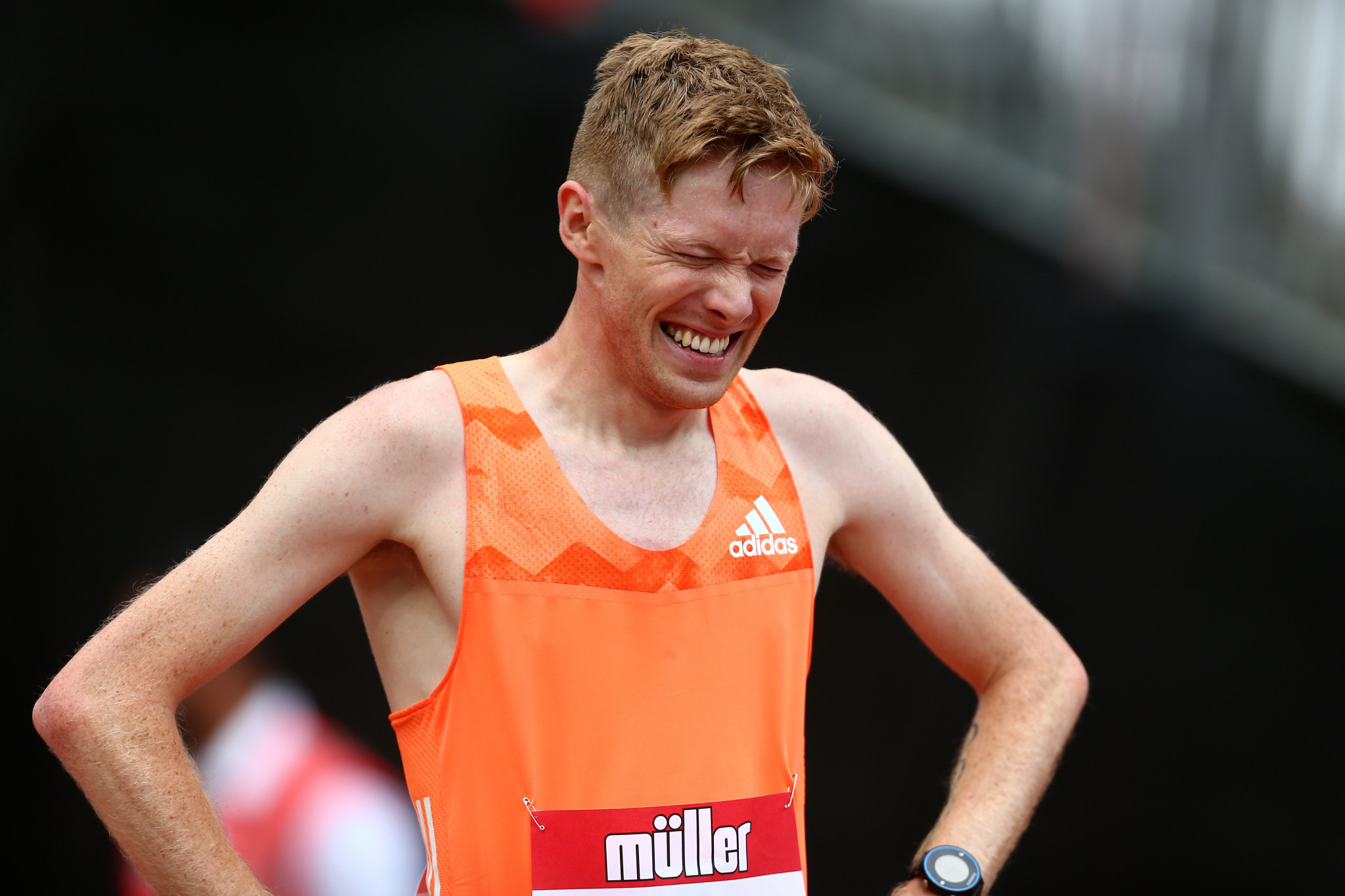 Great Britain's Tom Bosworth is one of several athletes to have criticised plans to shorten race walking events ©Getty Images