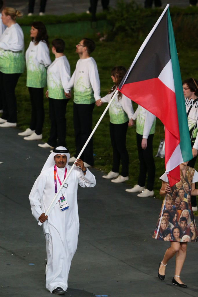 Kuwait's athletes wouldn't be able to compete under their flag at Rio 2016 with any suspension in place ©Getty Images