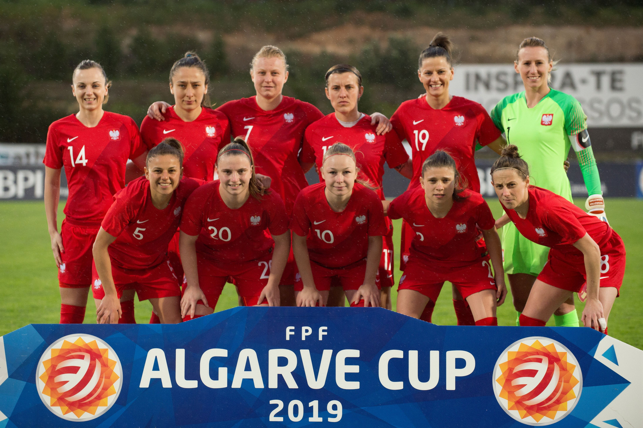 Poland moved up six places to 28th in the FIFA women's world rankings after reaching the final of the Algarve Cup ©Getty Images