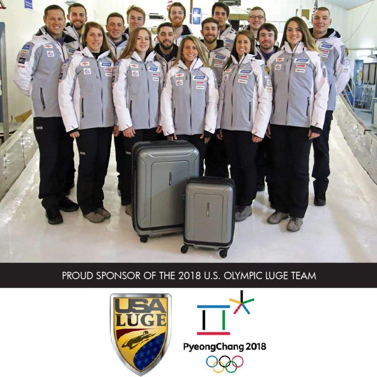Traveler's Choice provide USA Luge with luggage for all their most important events ©Traveler's Choice