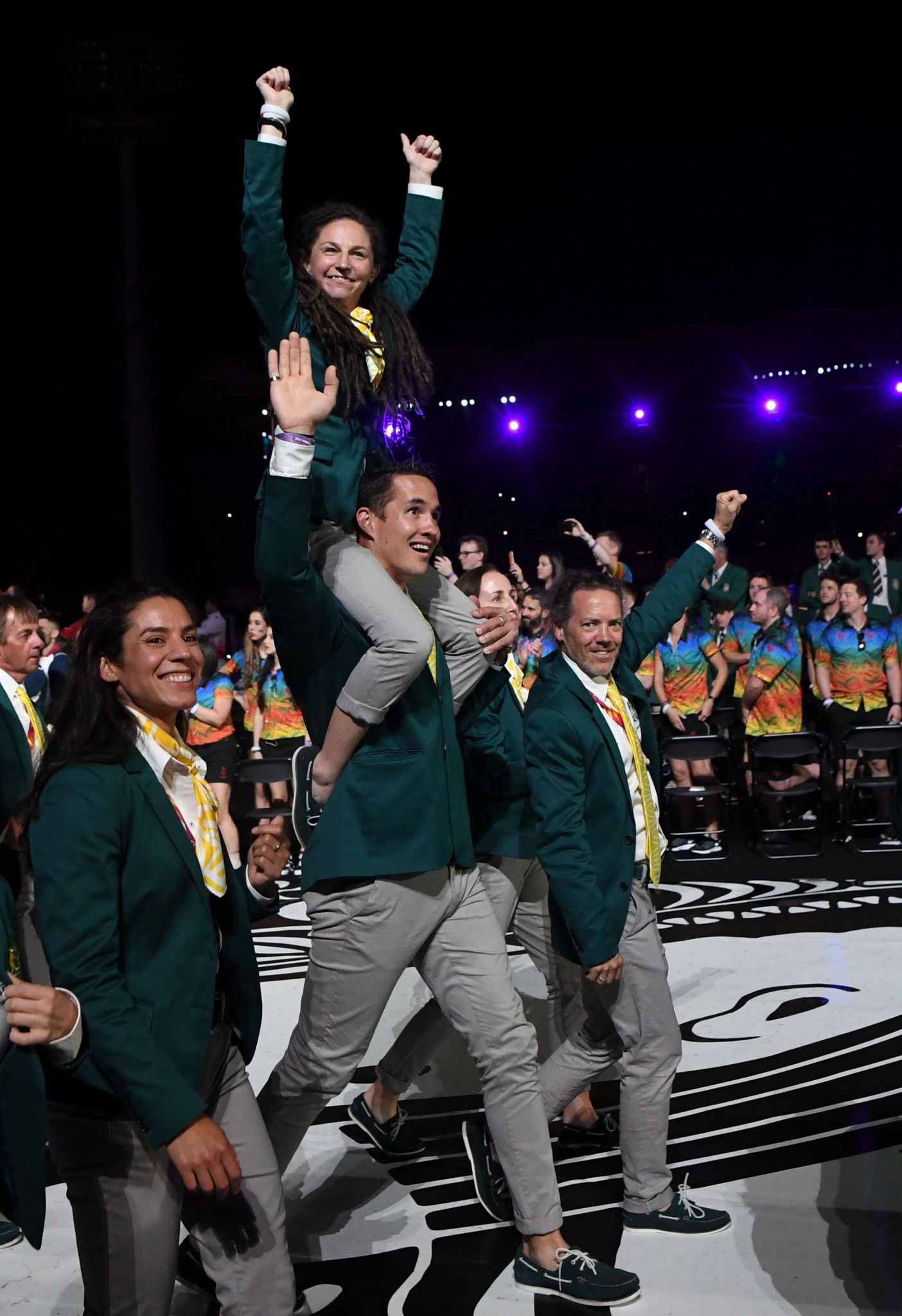 Australia topped the medal table at the Gold Coast 2018 Commonwealth Games with 198, including 80 gold ©Getty Images