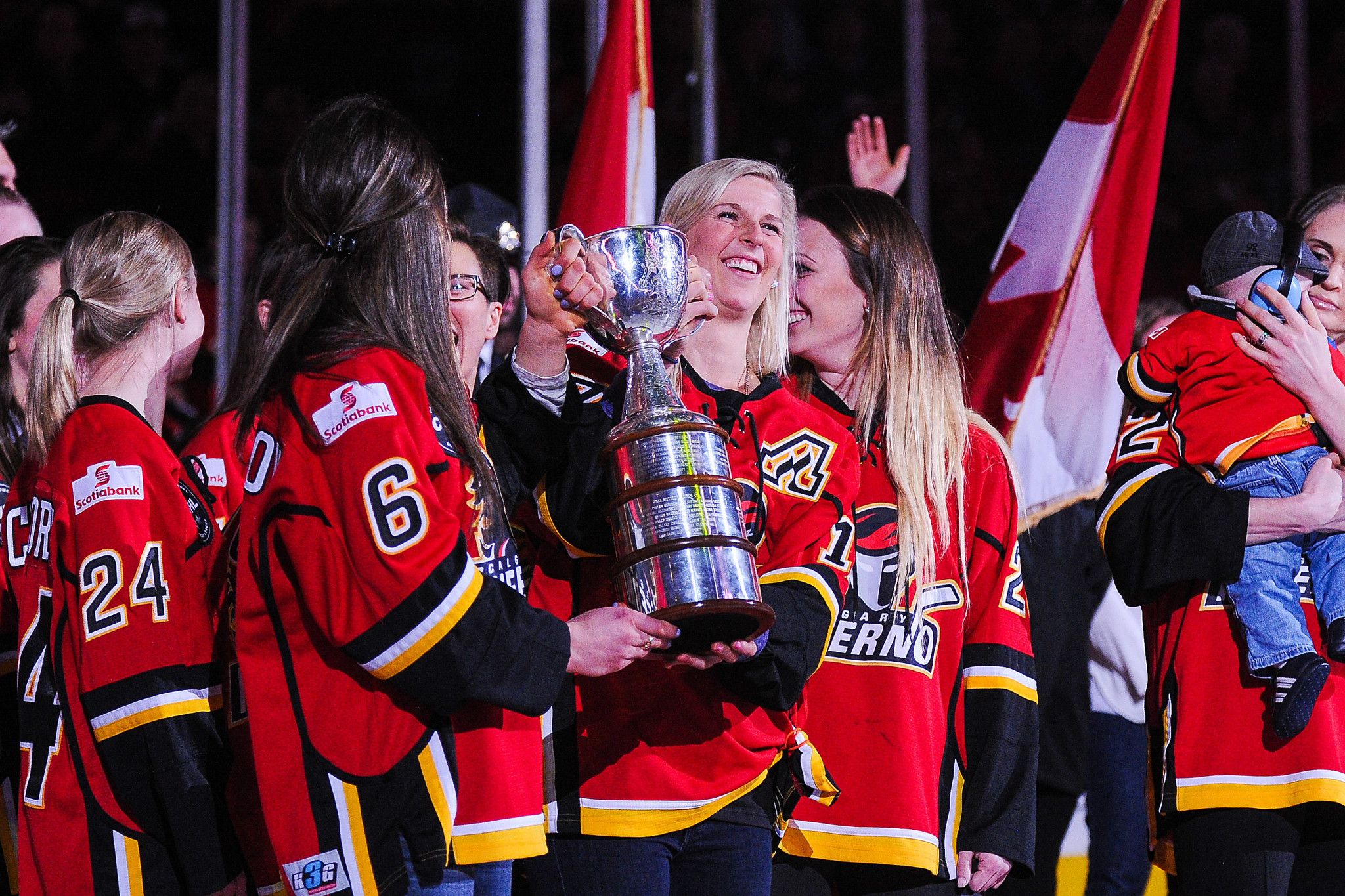 The Clarkson Cup game drew the league's final season to a close on March 24 ©Getty Images