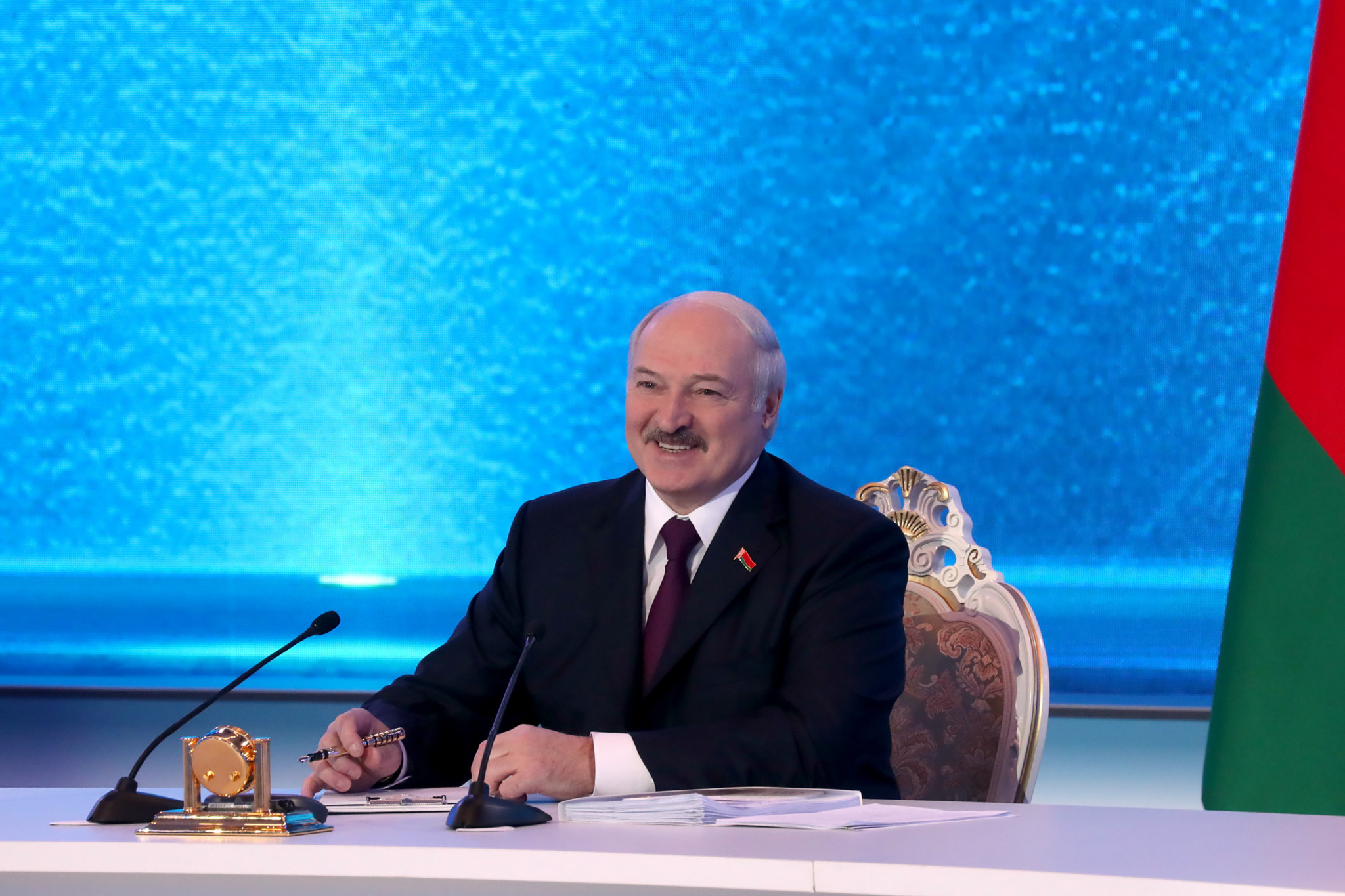 The conference has been organised in part by the Minsk 2019 Organising Committee, run by Belarusian President Alexander Lukashenko ©Getty Images