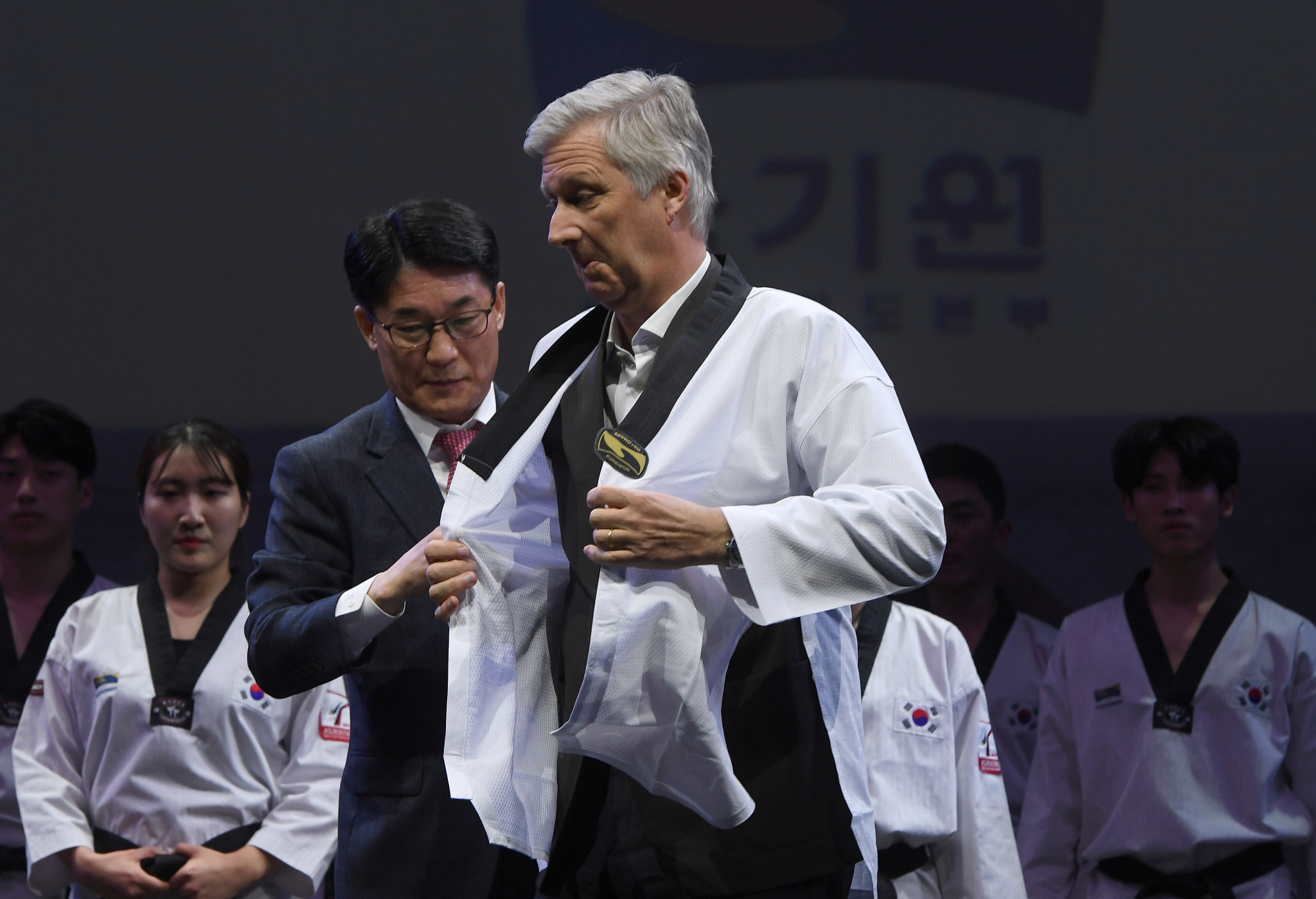 King of Belgium visits World Taekwondo headquarters during state visit to South Korea