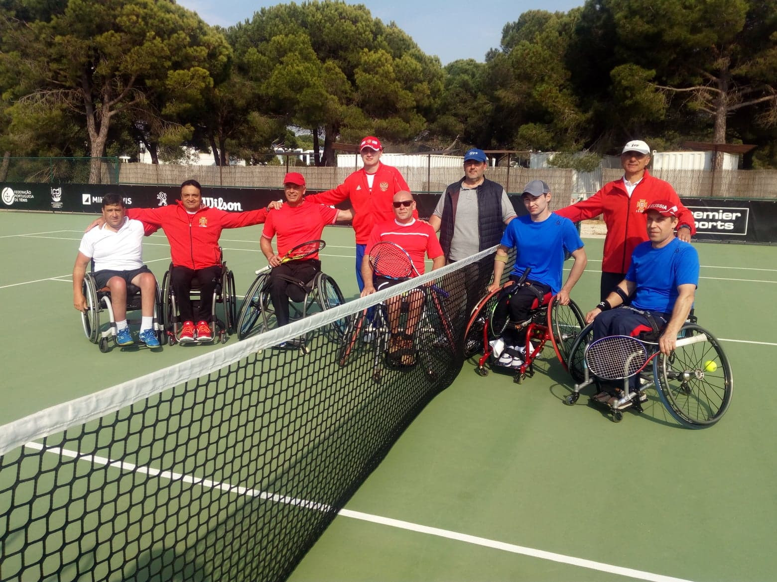 Hosts Portugal whitewashed by Russia as ITF World Team Cup European Qualifier begins