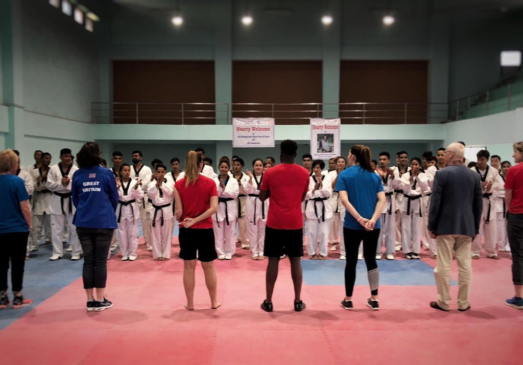 Great Britain's two-time world Para-taekwondo champion Amy Truesdale has hailed the success of a special taekwondo training camp in Nepal ©Amy Truesdale/Twitter