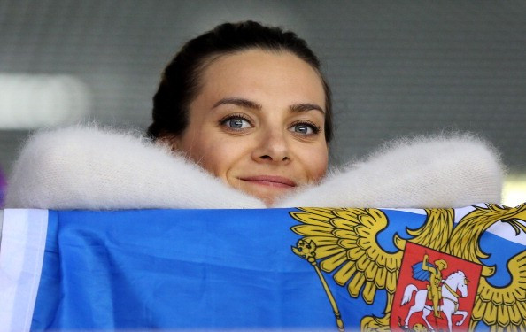 Russia's two-time Olympic gold medallist Yelena Isinbayeva is to stand for the IOC Athletes' Commission ©Getty Images