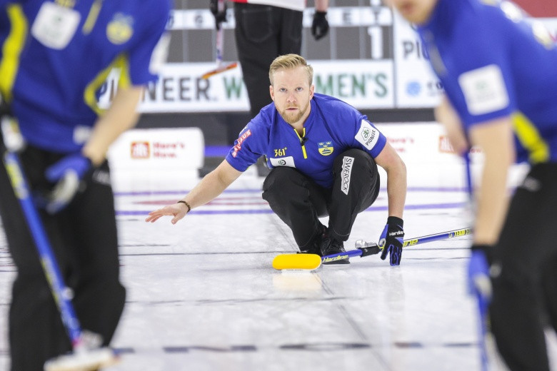 Unbeaten Canada move clear at top of World Men's Curling Championship standings