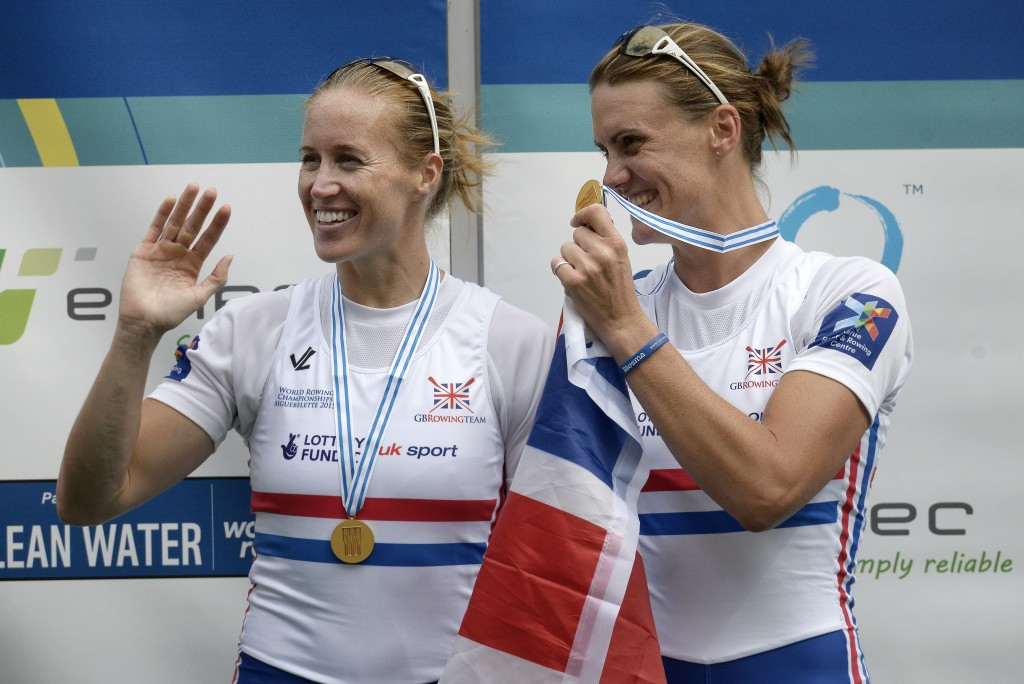 Glover powers to top of World Rowing Top 10 rankings for 2015 season