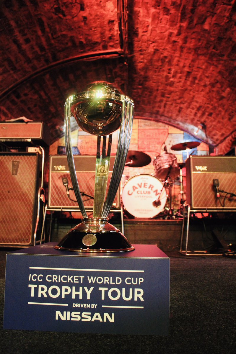The ICC Cricket World Cup trophy tour continued this week ICC