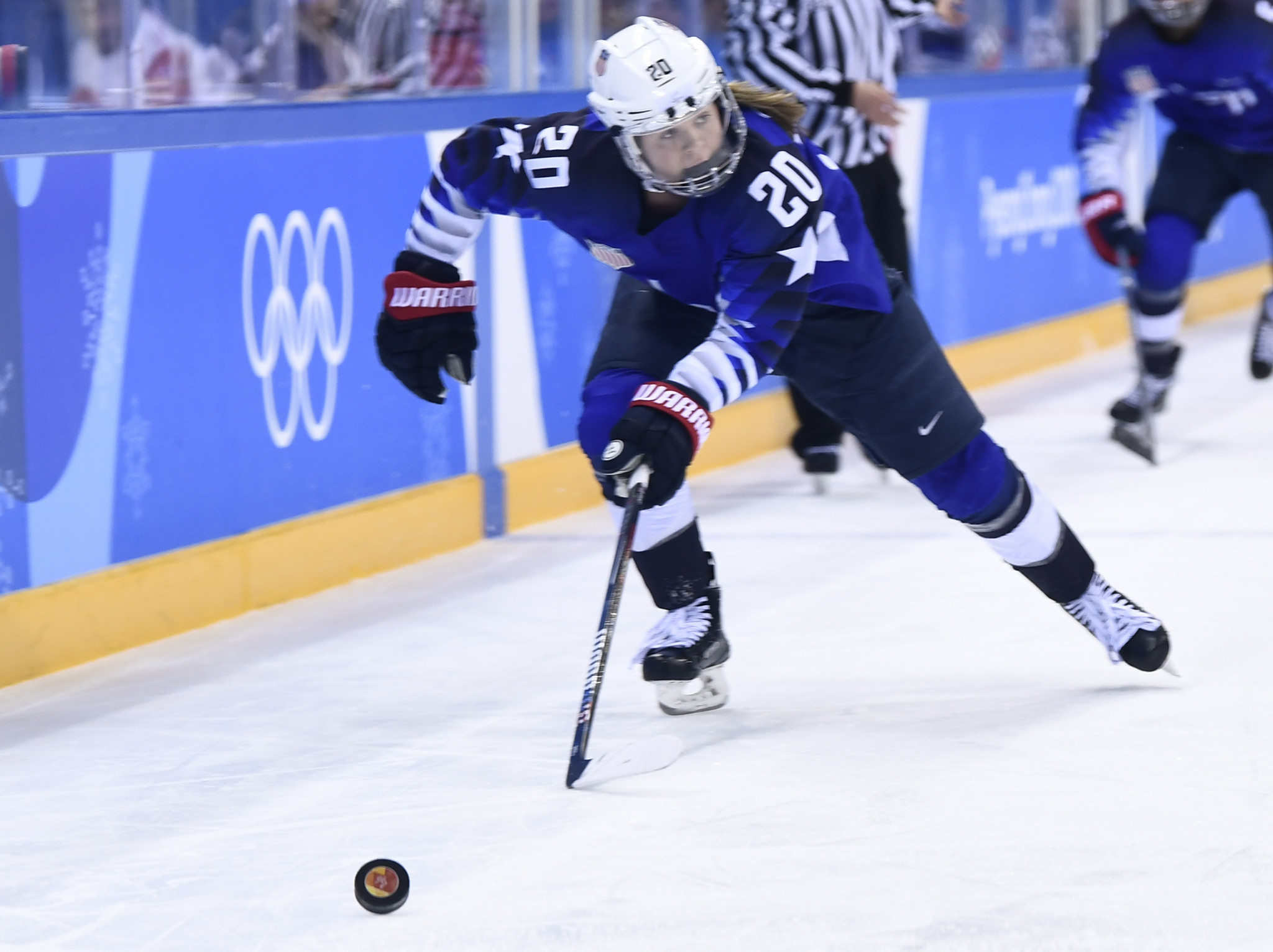 American forward Hannah Brandt has admitted the United States have a target on their backs at the tournament in Finland ©Getty Images