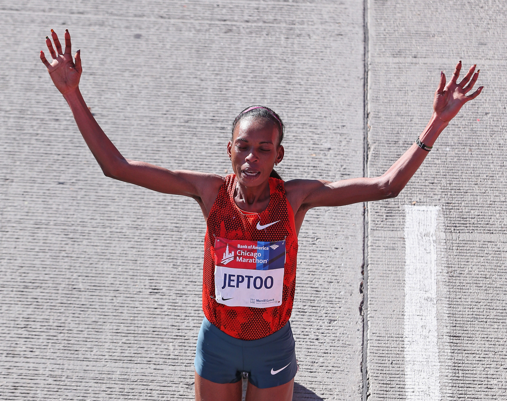 Rita Jeptoo was among the former winners to have been sanctioned for a doping offence ©Getty Images