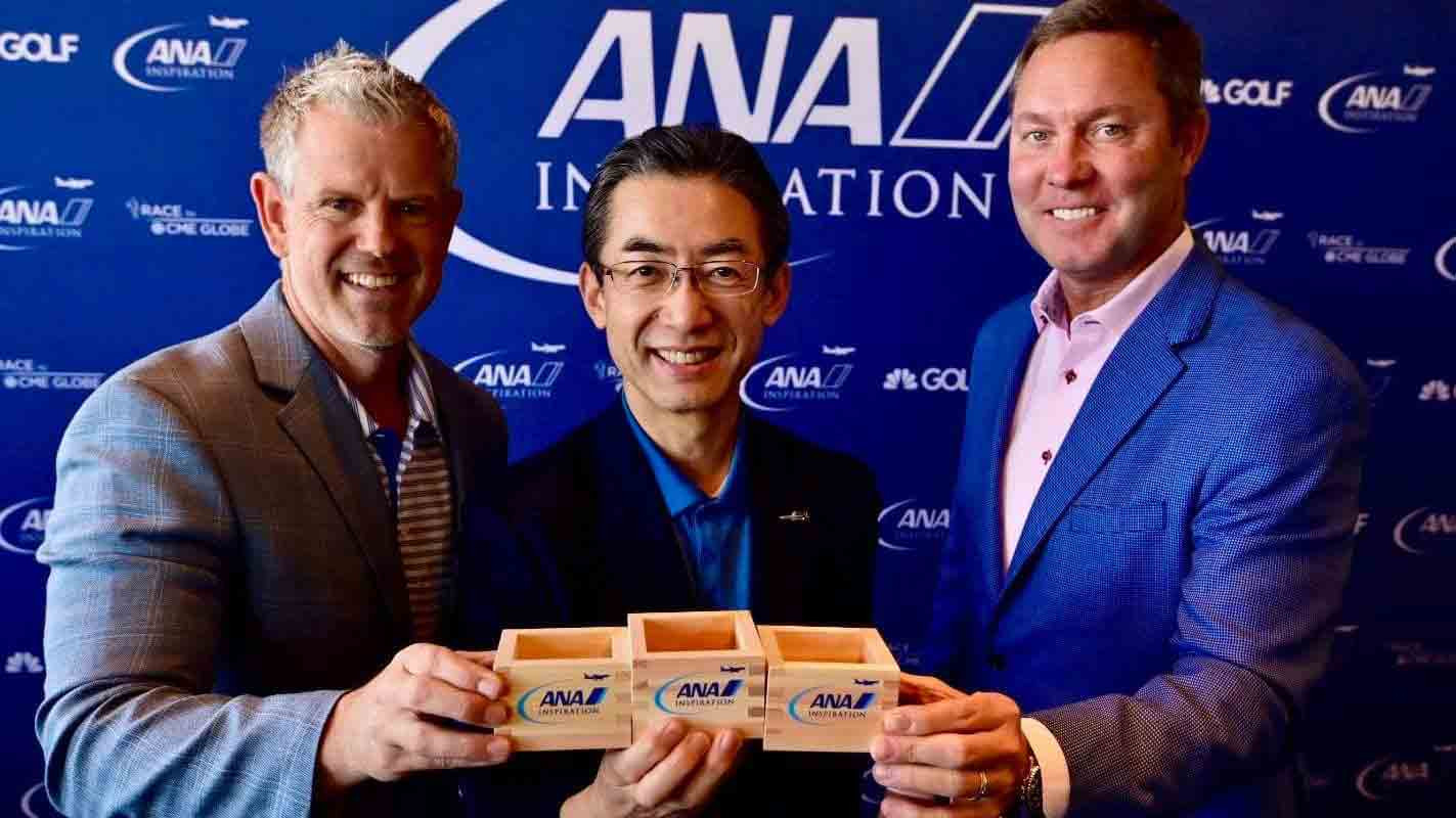 ANA and the LPGA signed an extension agreement on the eve of the tournament in California ©LPGA