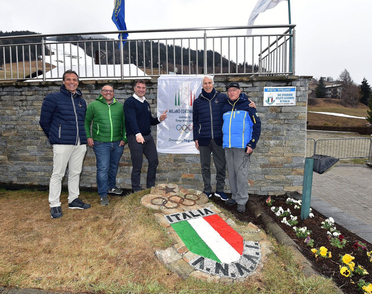 The quality of organisers at the venues they have met so far have impressed the IOC Evaluation Commission during their visit to Milan Cortina 2026 ©CONI