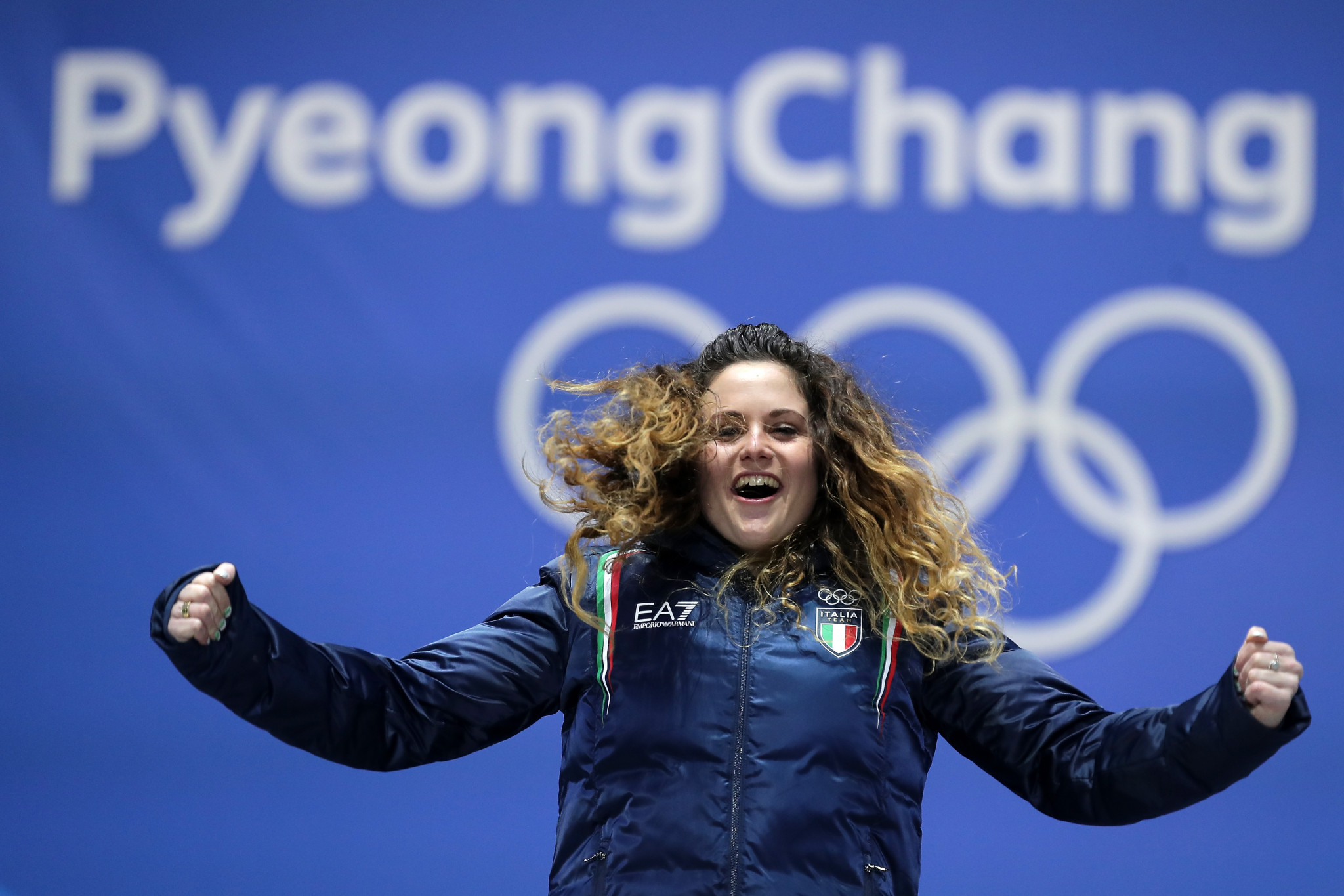 Olympic snowboard cross gold medallist Michela Moioli is among the Italian athletes from  Livigno ©Getty Images