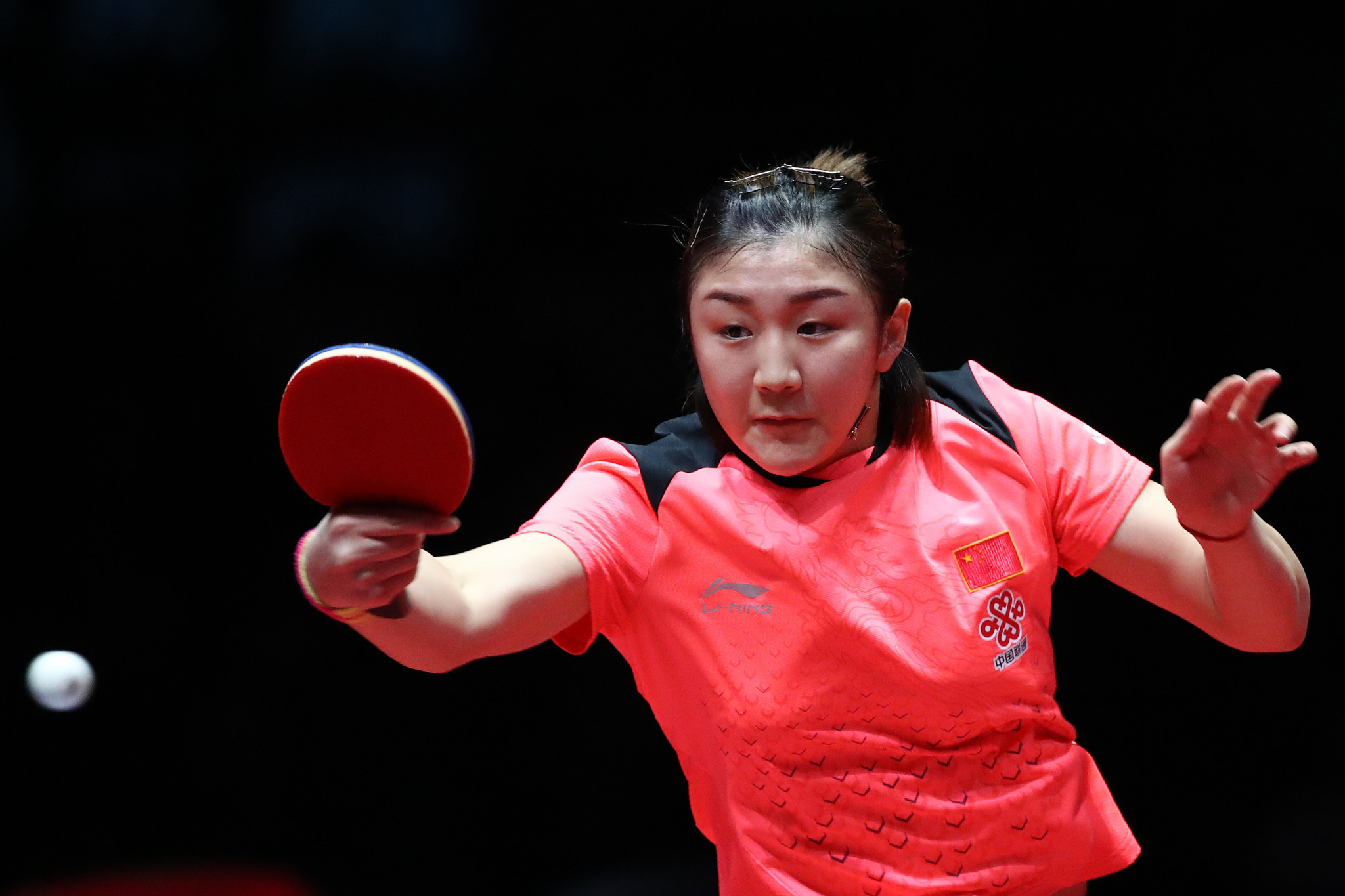 China's Zhu Yuling has won the past two women's singles titles at the ITTF-ATTU Asian Cup ©Getty Images