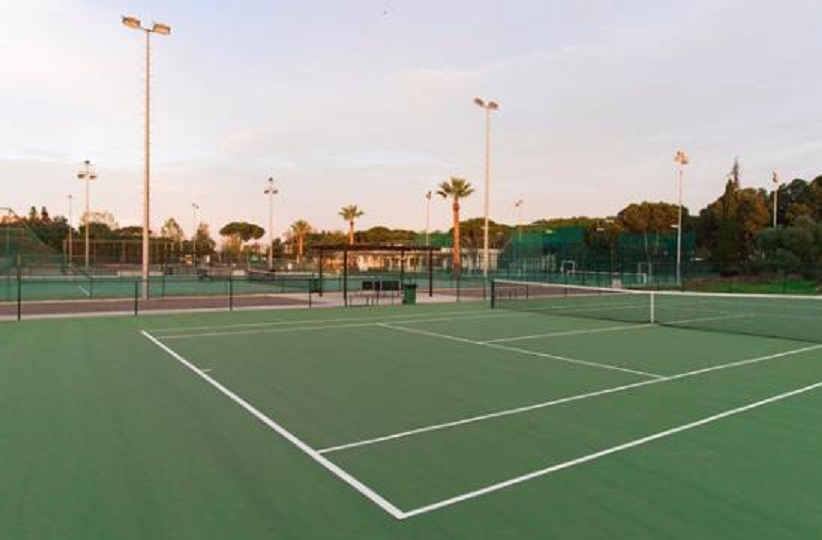 Portugal need to beat Slovakia to keep their hopes alive in the men's event ©Vilamoura Tennis Academy