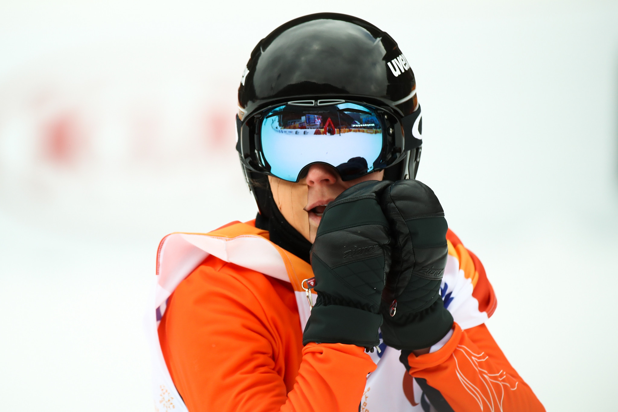 World champion Bunschoten wins on opening day of World Para Snowboard World Cup Finals in Klövsjö