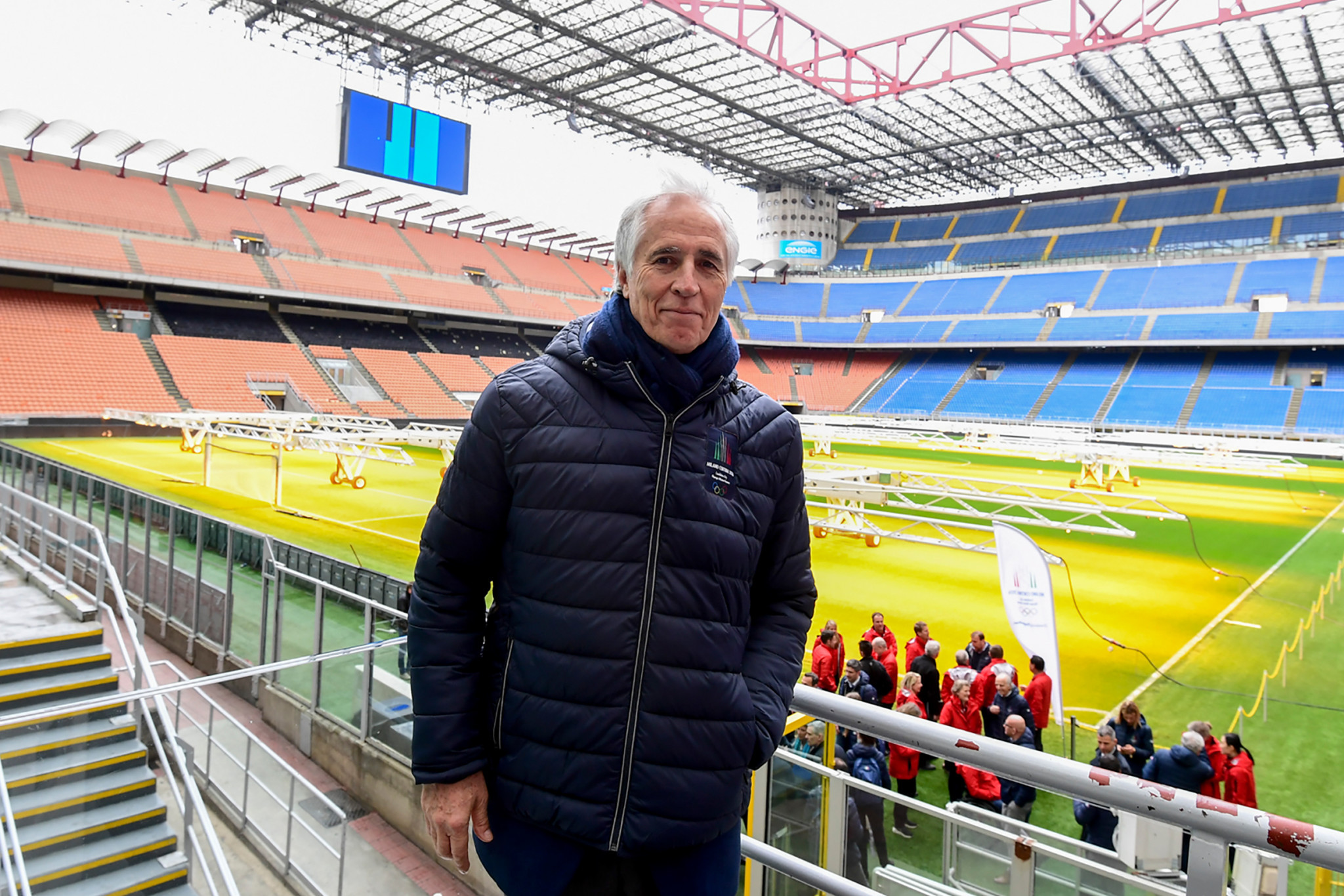 San Siro dispute not an issue for Milan Cortina 2026 and solution will be found so athletes can attend Opening Ceremony, promises Malagò