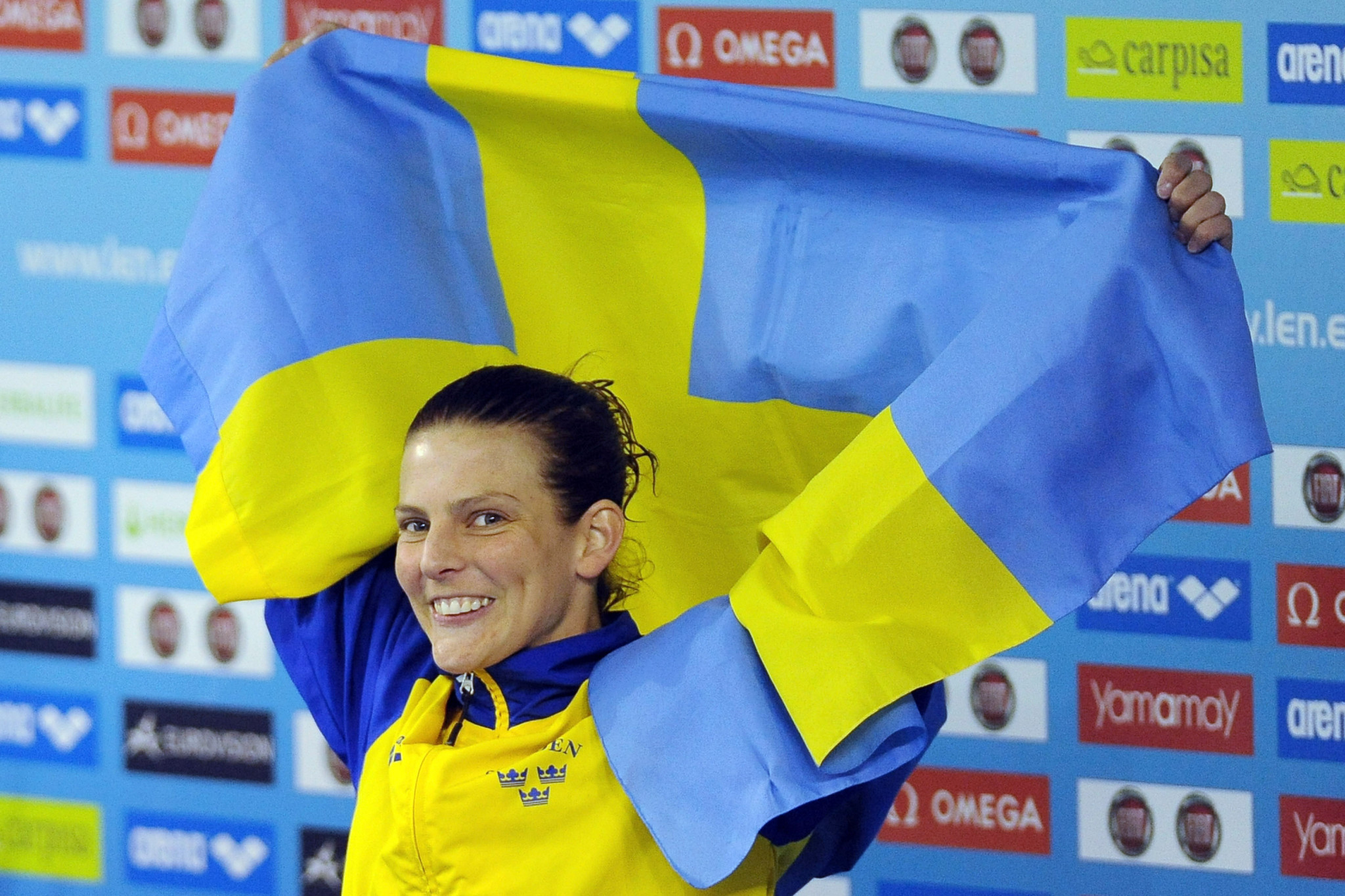 Swedish diver Anna Lindberg has urged backing for Stockholm Åre 2026 ©Getty Images