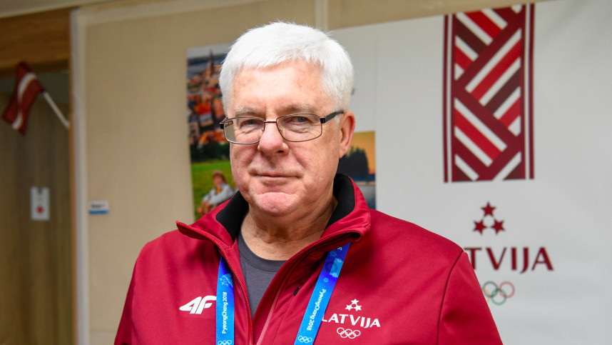 Latvian Olympic Committee President Aldons Vrublevskis has claimed Sigulda hosting the sliding events in Stockholm Åre 2026 is a unique opportunity for the country ©Stockholm Åre 2026