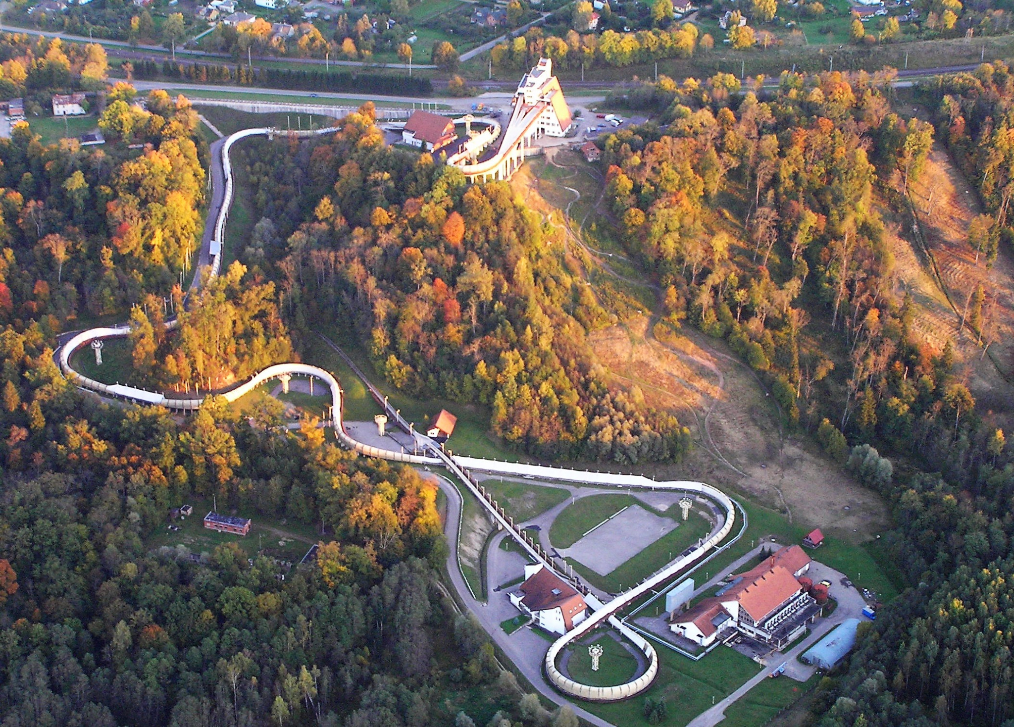 Sigulda has hosted several major bobsleigh, luge and skeleton events ©Getty Images
