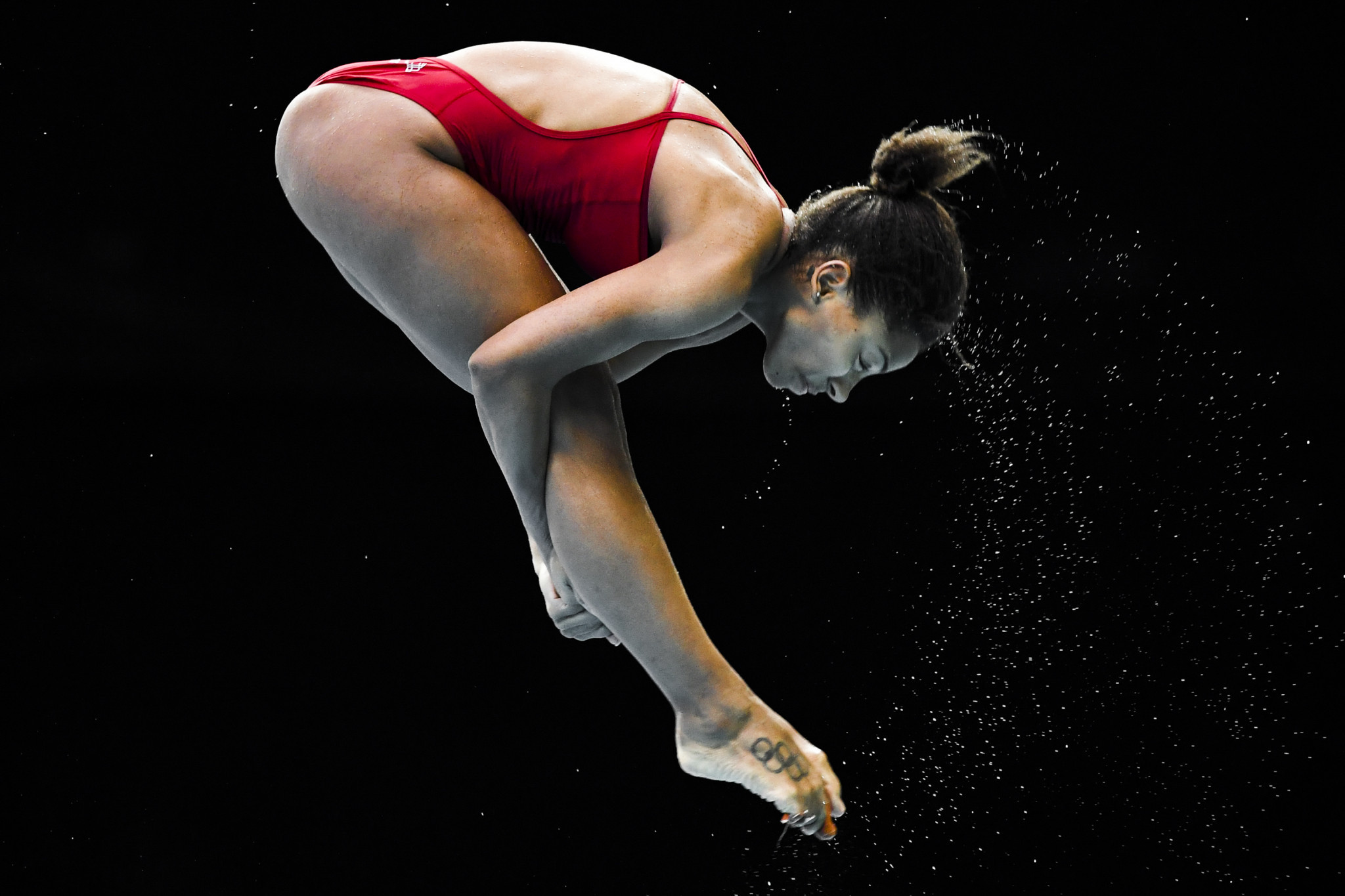 Jennifer Abel eased through to the springboard final at the FINA Diving Grand Prix in Calgary ©Getty Images