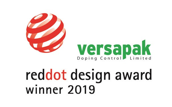 Versapak Doping Control wins design award for urine sample bottles