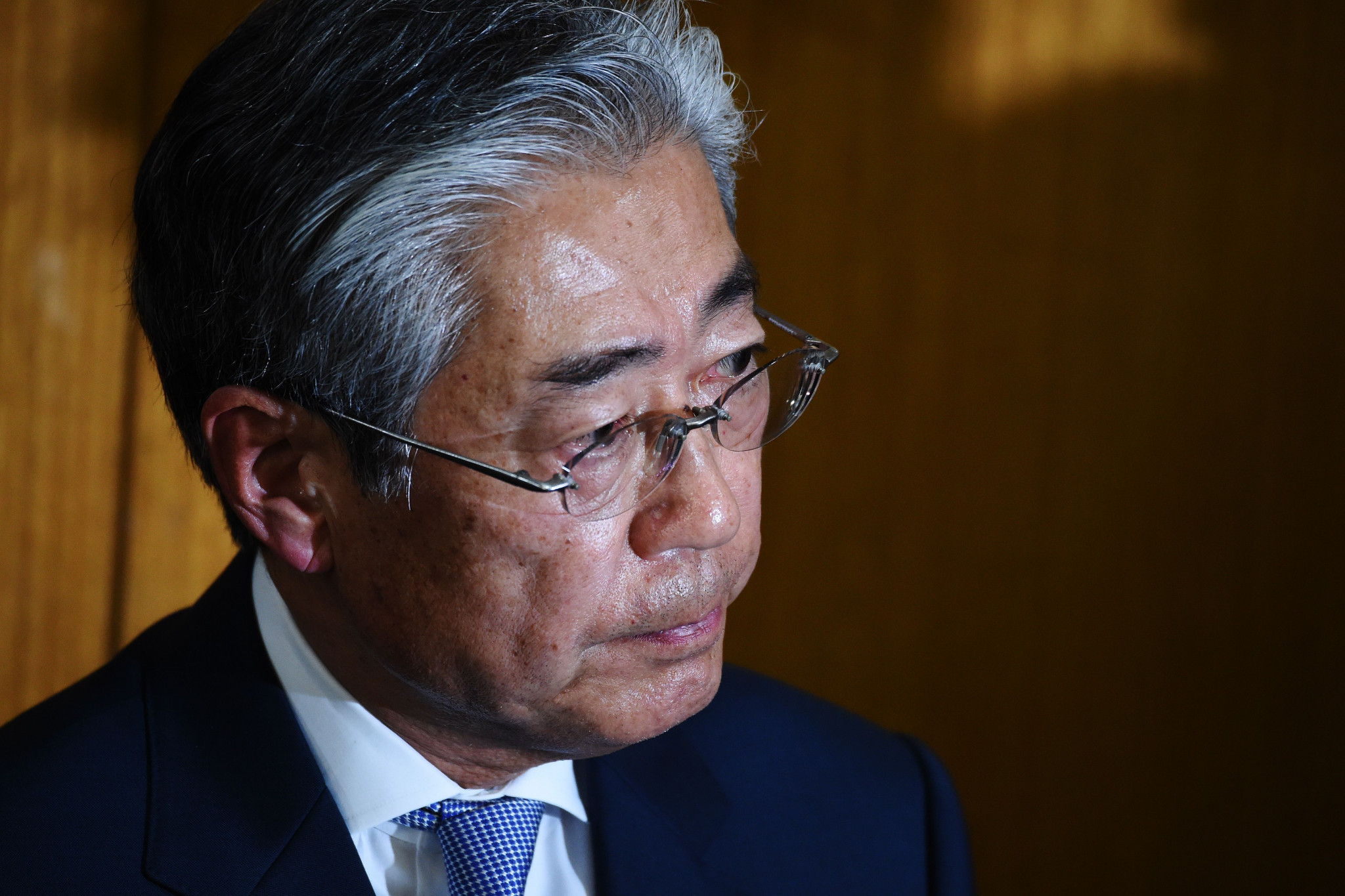 Tsunekazu Takeda's term as JOC President concludes on June 27 after he confirmed he would not seek re-election ©Getty Images