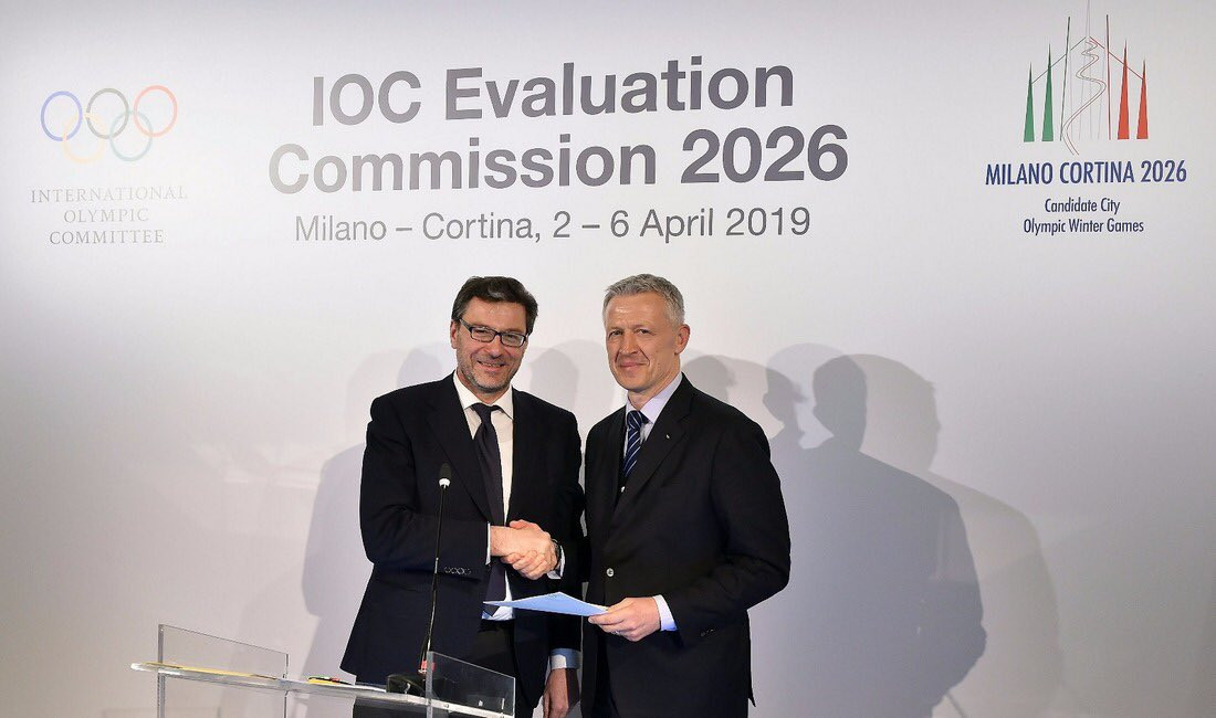 A letter signed by Italian Prime Minister Giuseppe Conte offering the guarantees for Milan Cortina 2026 was delivered to the IOC today ©Milan Cortina 2026