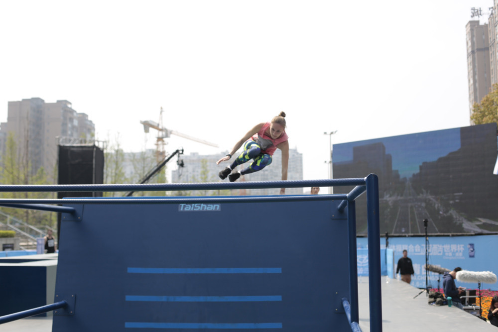 Women's freestyle is set to return to the FIG Parkour World Cup series after an 11-month hiatus ©FIG