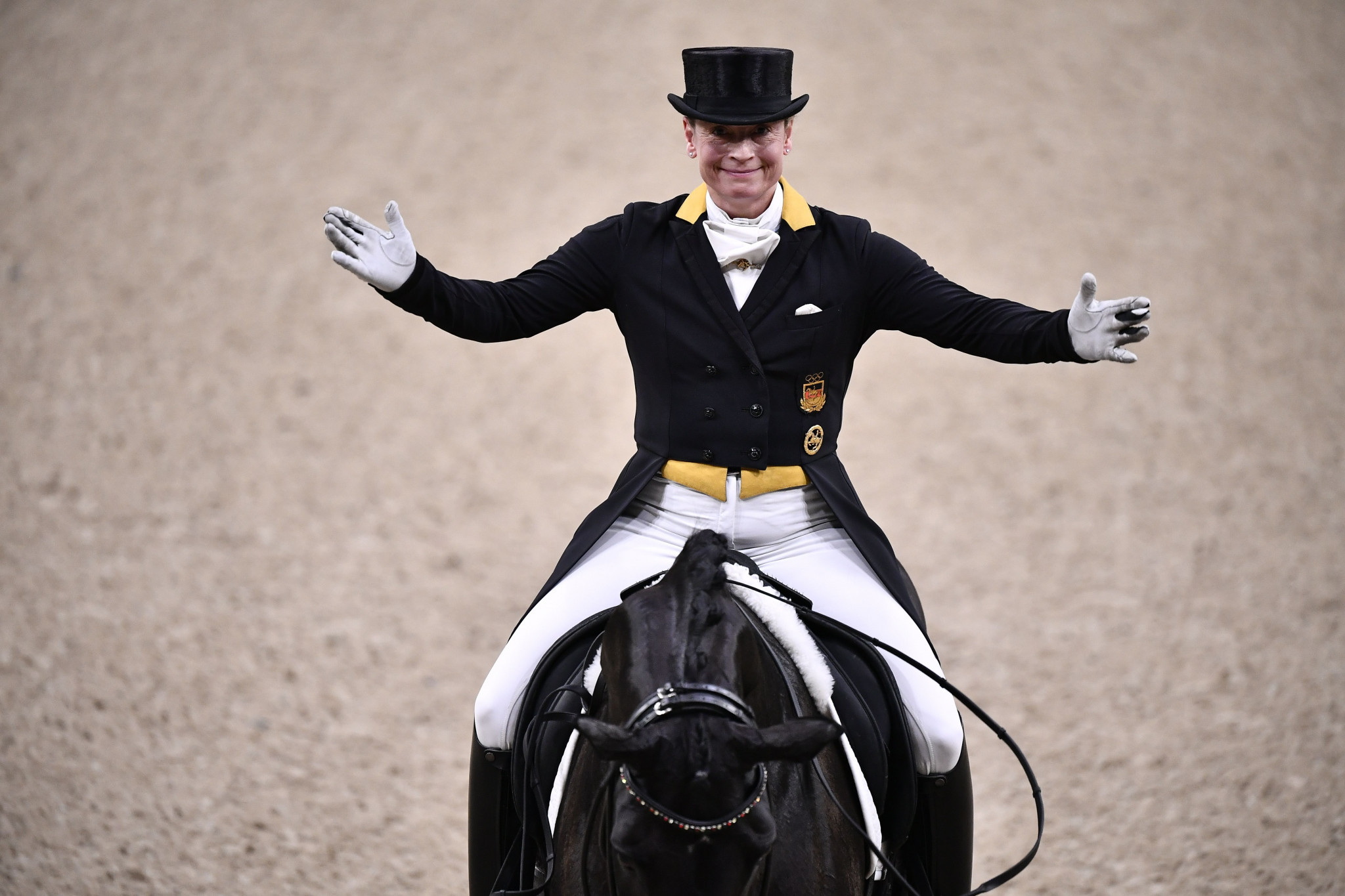 Werth in pole position for third successive FEI Dressage World Cup title after first-round win in Gothenburg