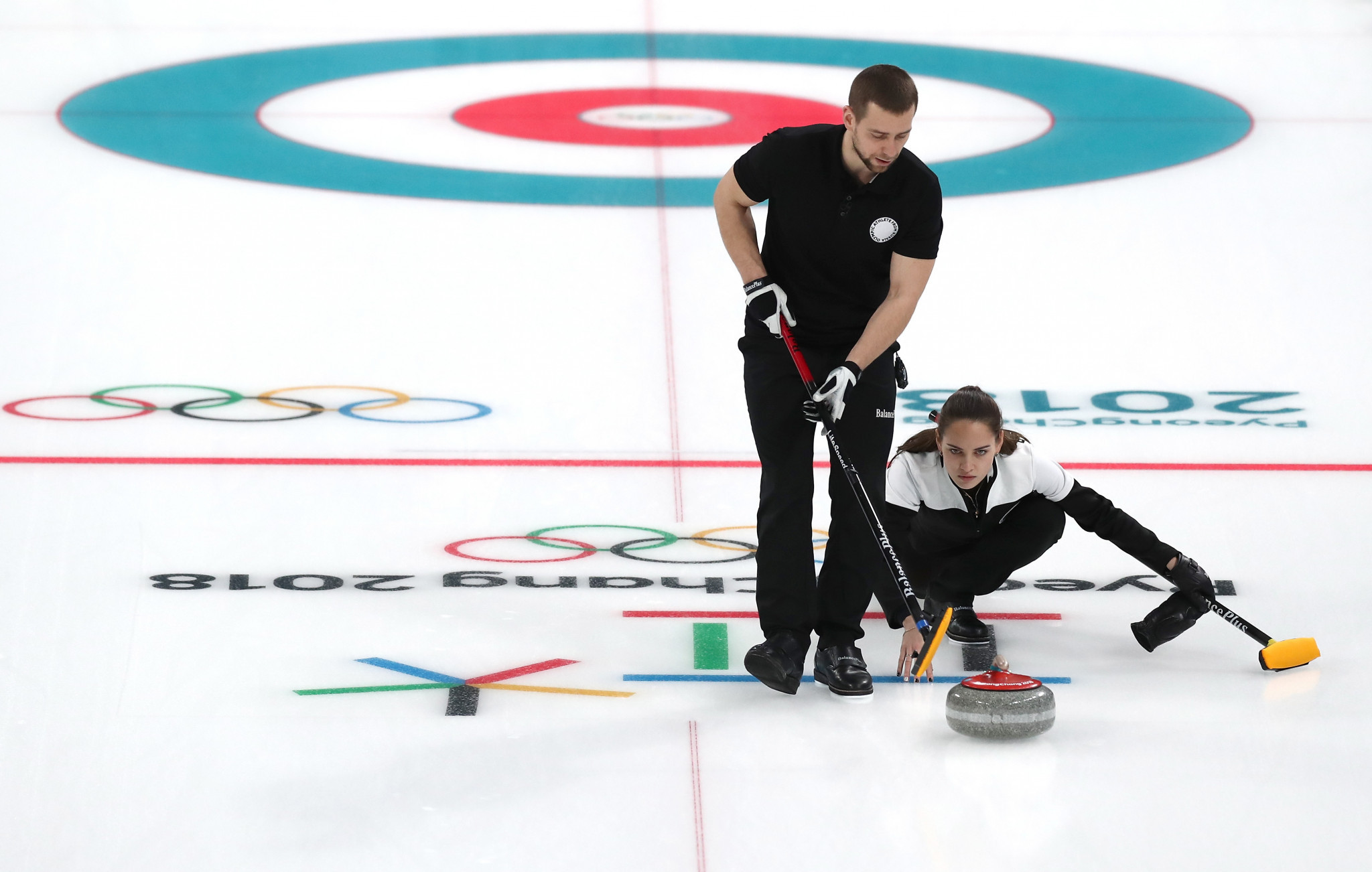 Russian curler Aleksandr Krushelnitckii tested positive for meldonium during last year's Winter Olympic Games in Pyeongchang ©Getty Images