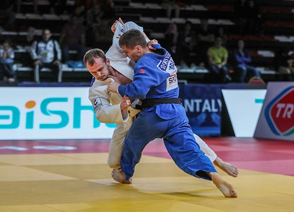 Moldova's Denis Vieru won the men's under-66kg event to secure his and his country's first gold medal on the IJF Grand Prix stage ©IJF