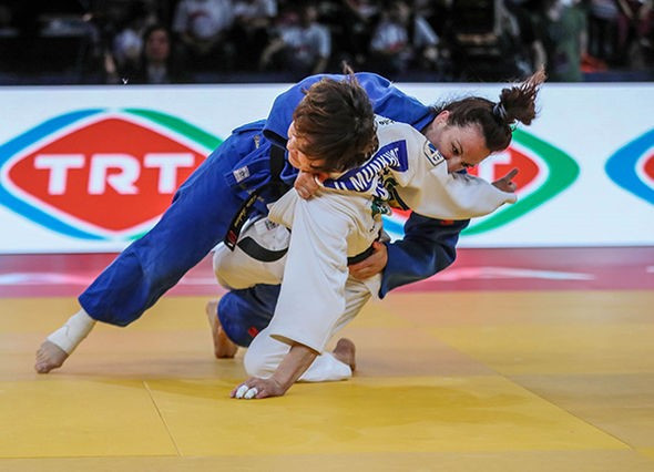 Romania's Andreea Chitu picked up her first IJF title since 2015 ©IJF