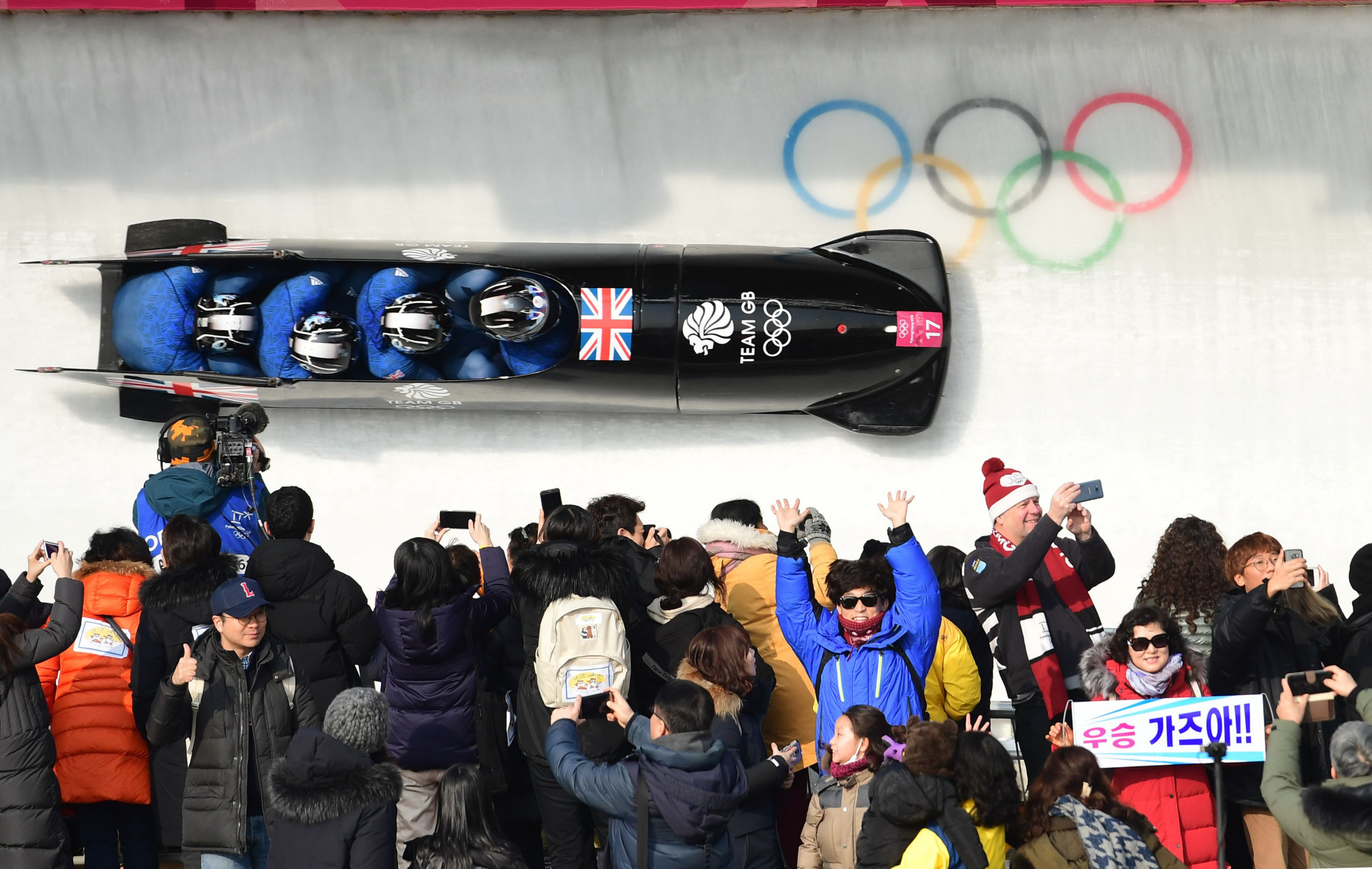 Britain's four-man bob teams failed to reach their target of top five finishes at Pyeongchang 2018