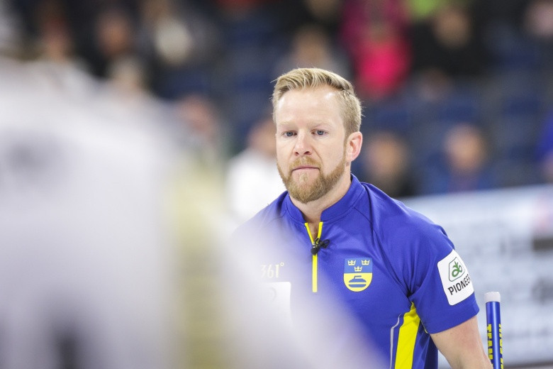 Sweden and Switzerland claim semi-final places at World Men's Curling Championships