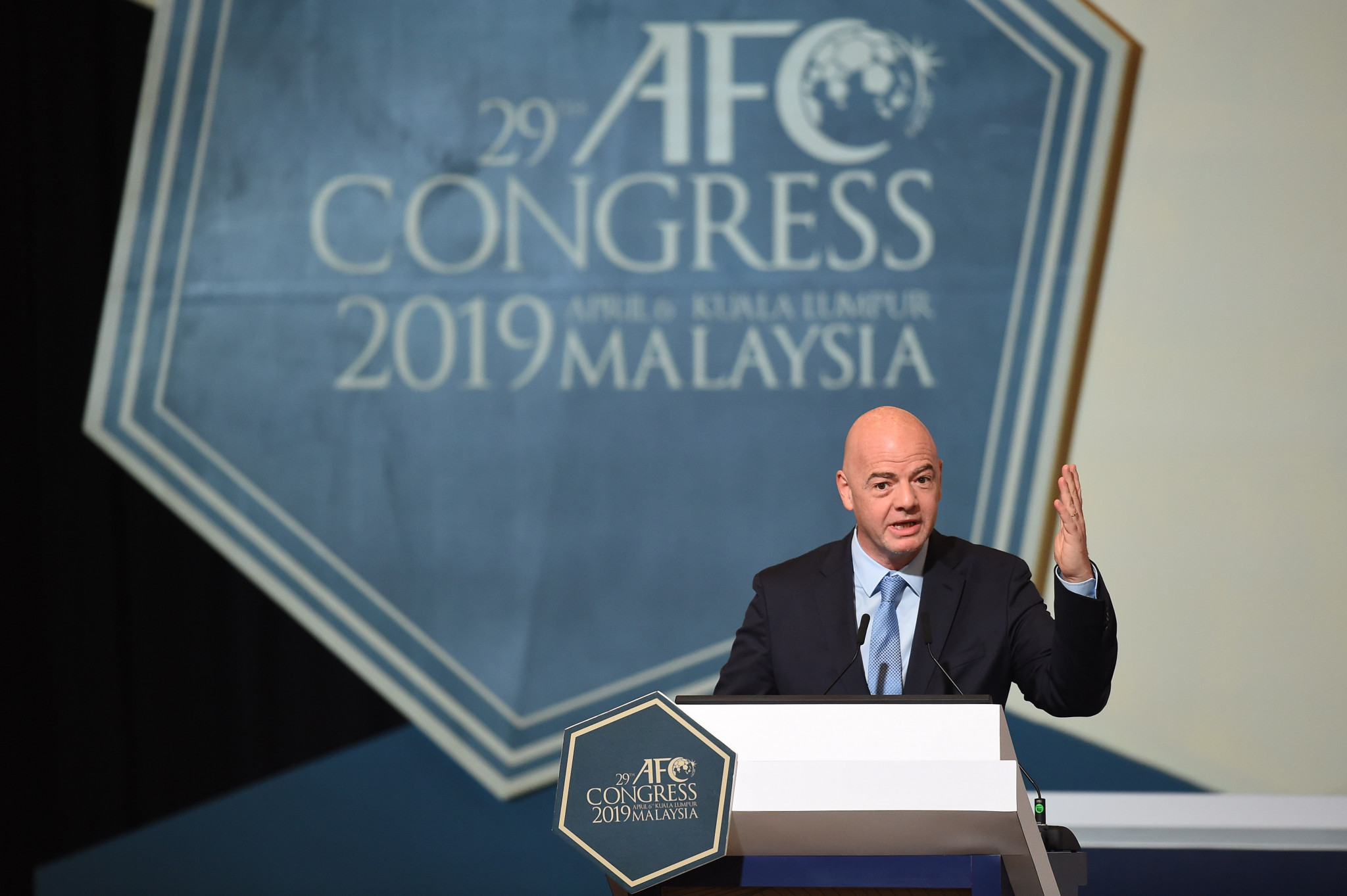 Infantino hails Shaikh Salman's re-election as Asian Football Confederation President