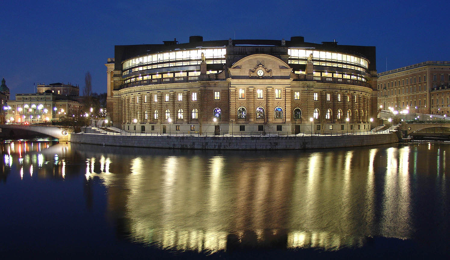 The Swedish Government at the country's Parliament – the Riksdag – has yet to announce whether or not it will back Stockholm Åre 2026 with the official deadline of April 12 less than a week away ©Wikipedia