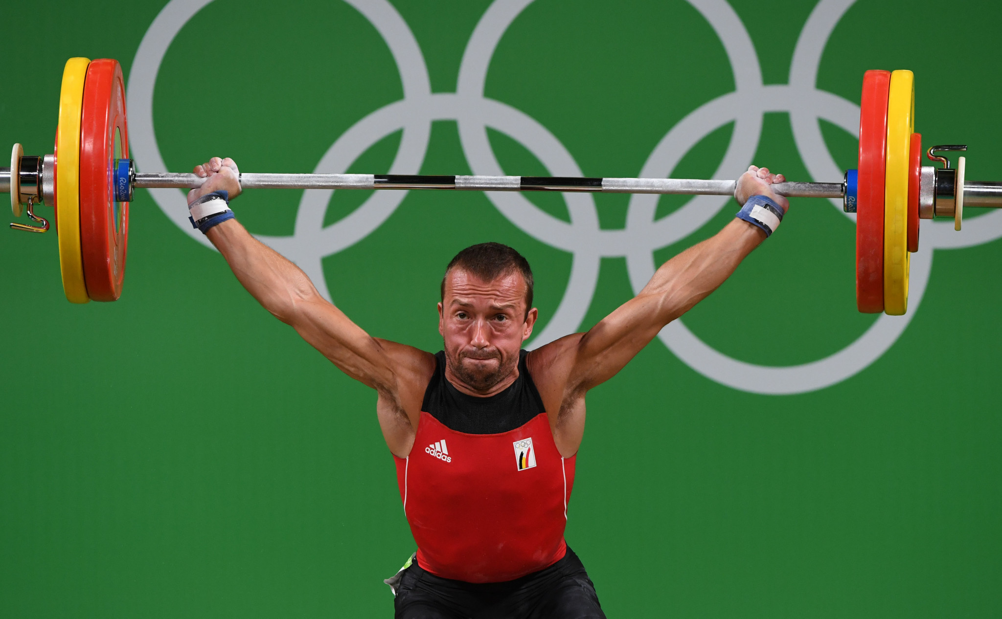 Belgium's Tom Goegebuer has competed at the Olympic Games four times and supports the International Weightlifting Federation's tough stance ©Getty Images