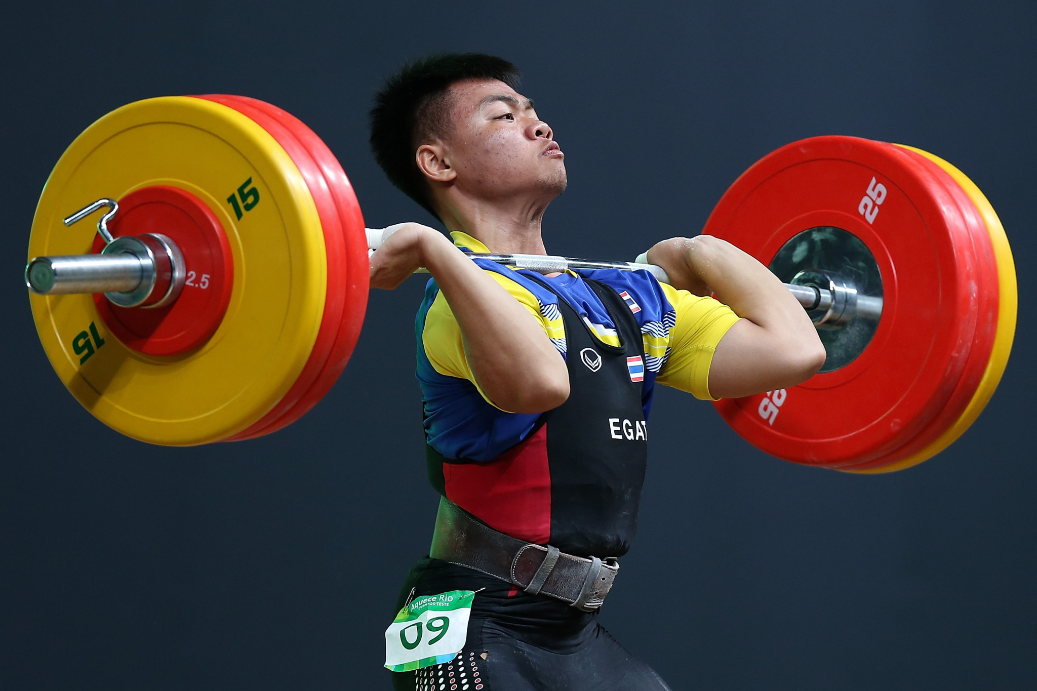 Thailand's Witsanu Chantri has tested positive for anabolic steroids ©Getty Images