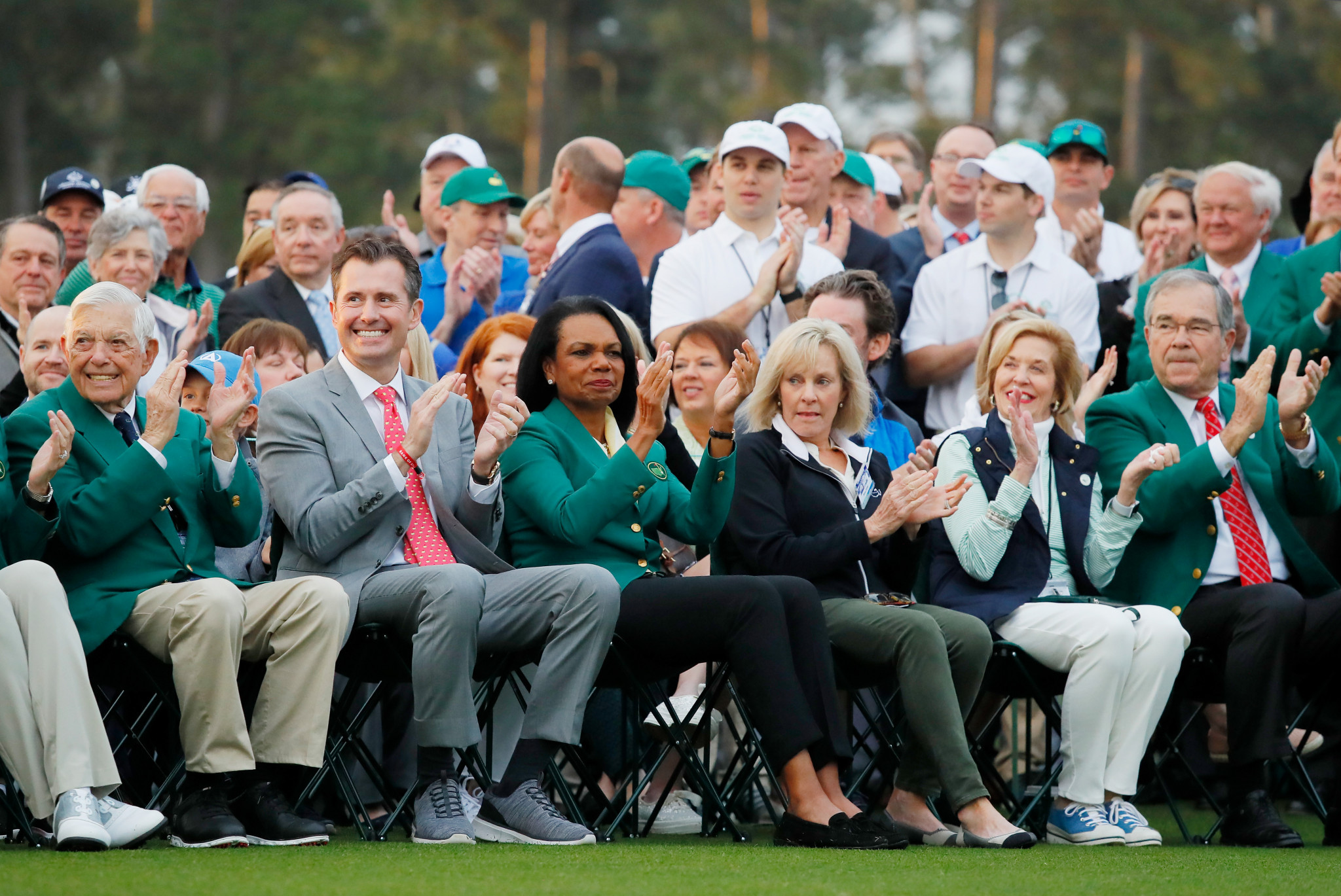 Augusta National Golf Club played host to an historic moment today ©Getty Images