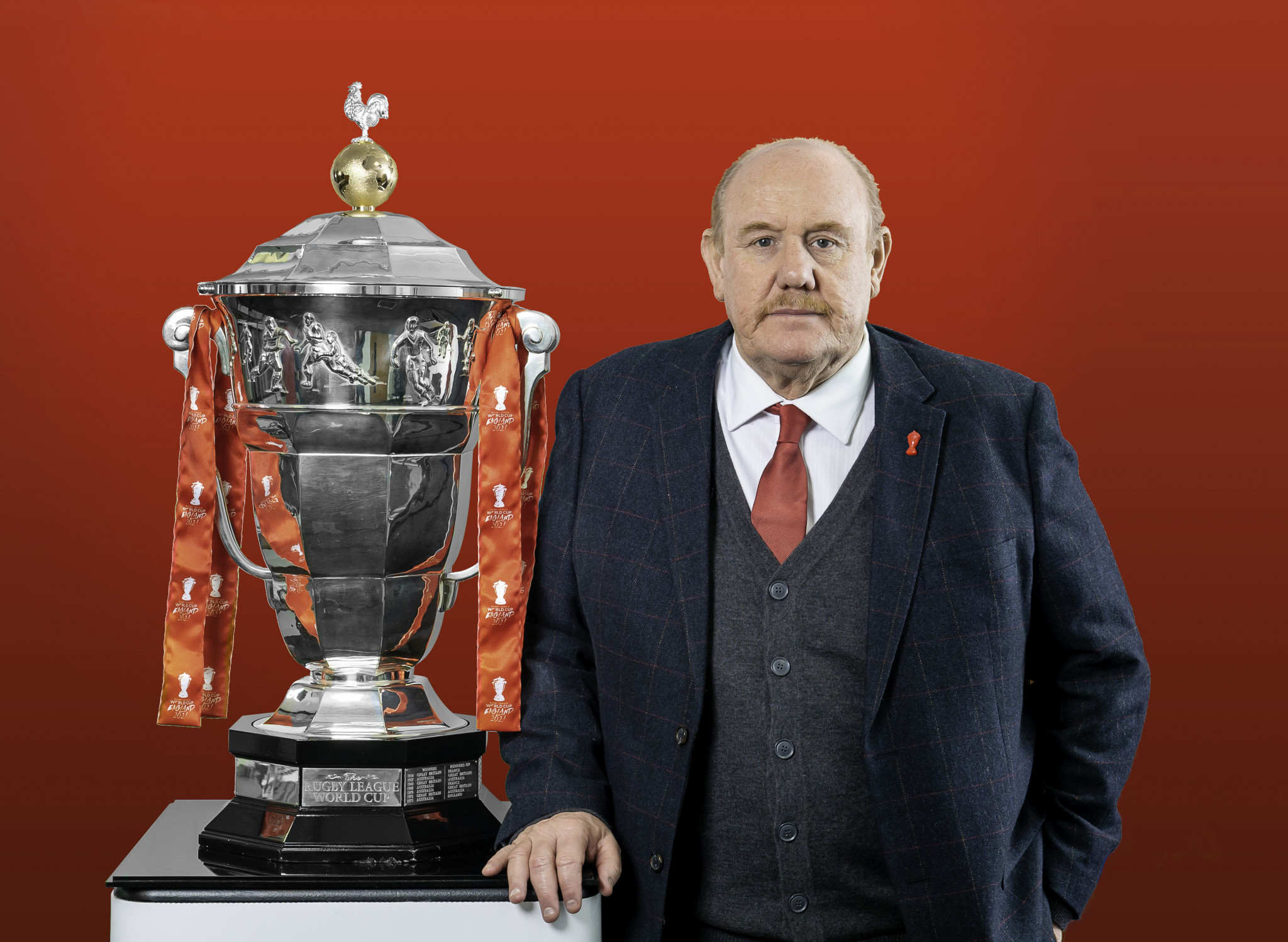 Brian Barwick has been appointed President of the 2021 Rugby League World Cup ©RLIF