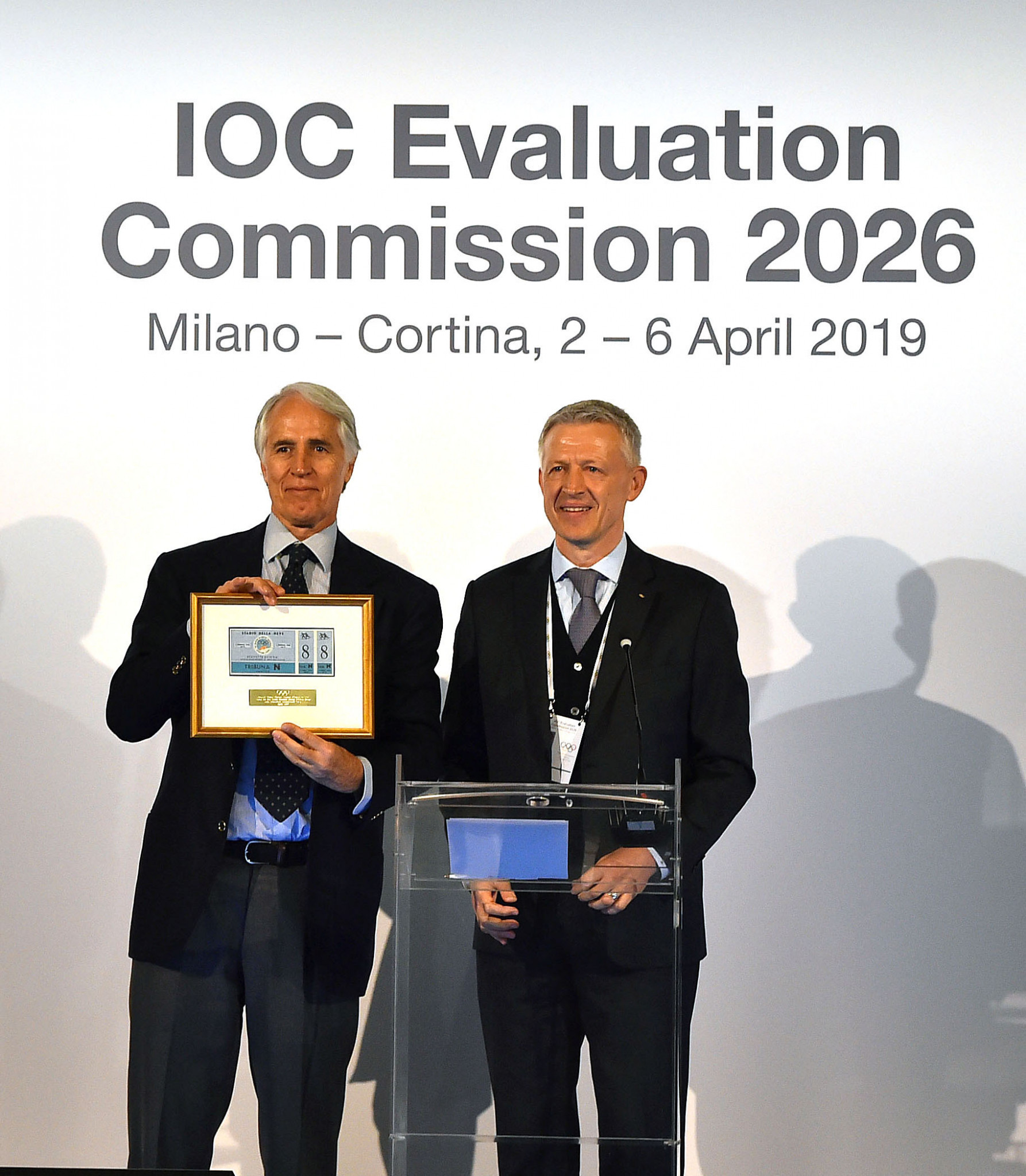 Presents exchanged as IOC Evaluation Commission visit to Milan Cortina 2026 comes to an end