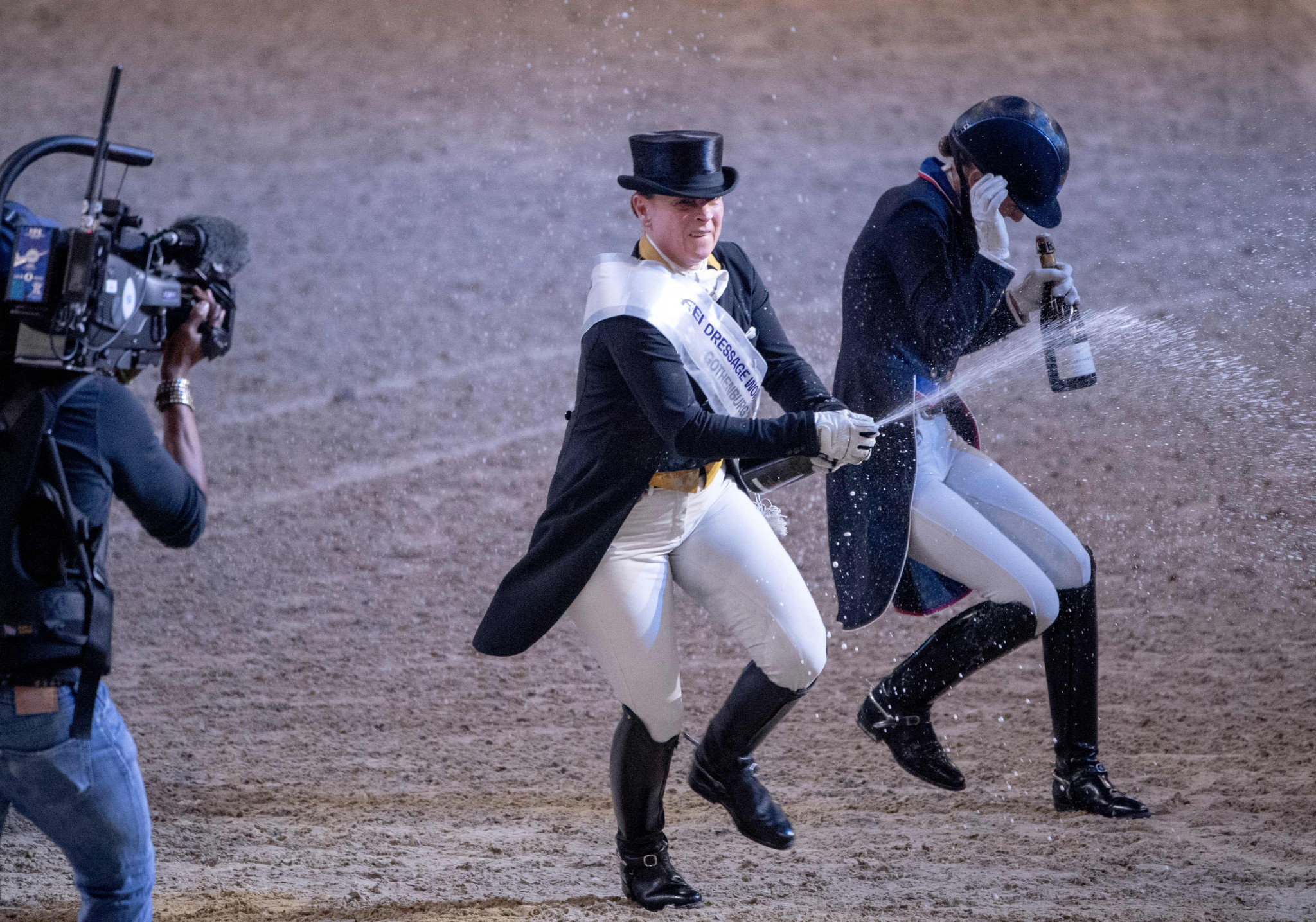 Equestrian icon Werth seals fifth Dressage World Cup title with freestyle win in Gothenburg