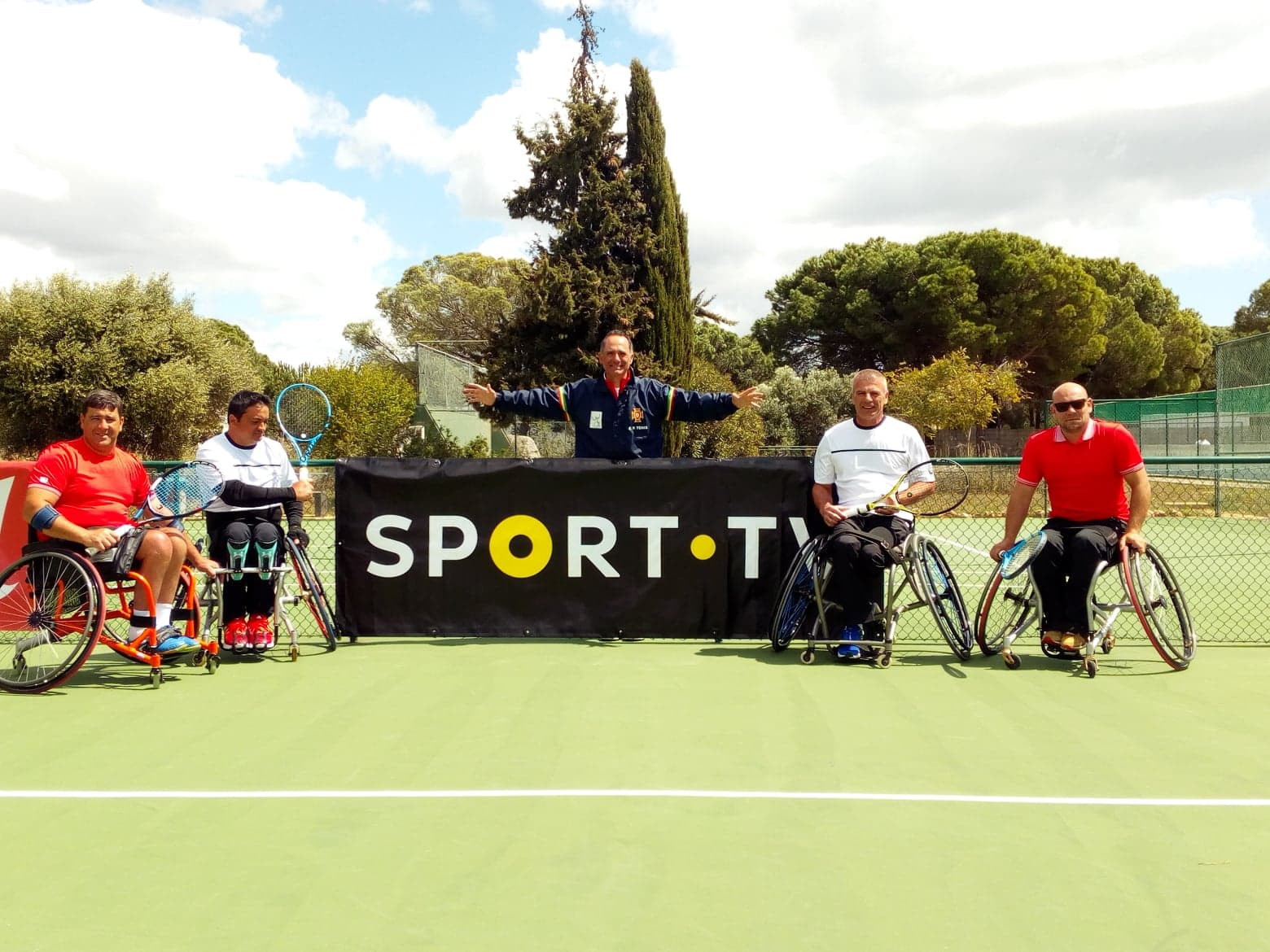 Today's finals went ahead in windy conditions after yesterday's semis were disrupted by rain ©Vilamoura Tennis Academy