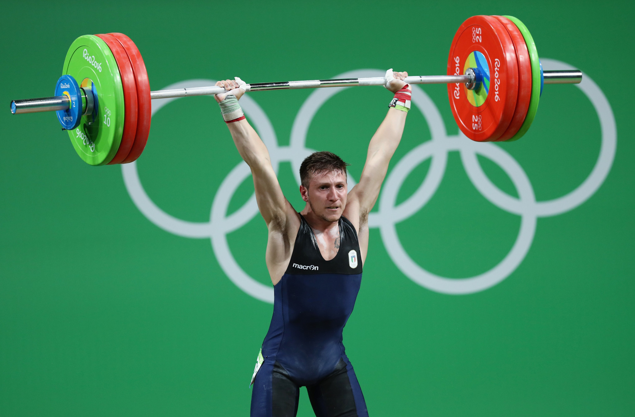 Italian weightlifter Scarantino racks up third European title