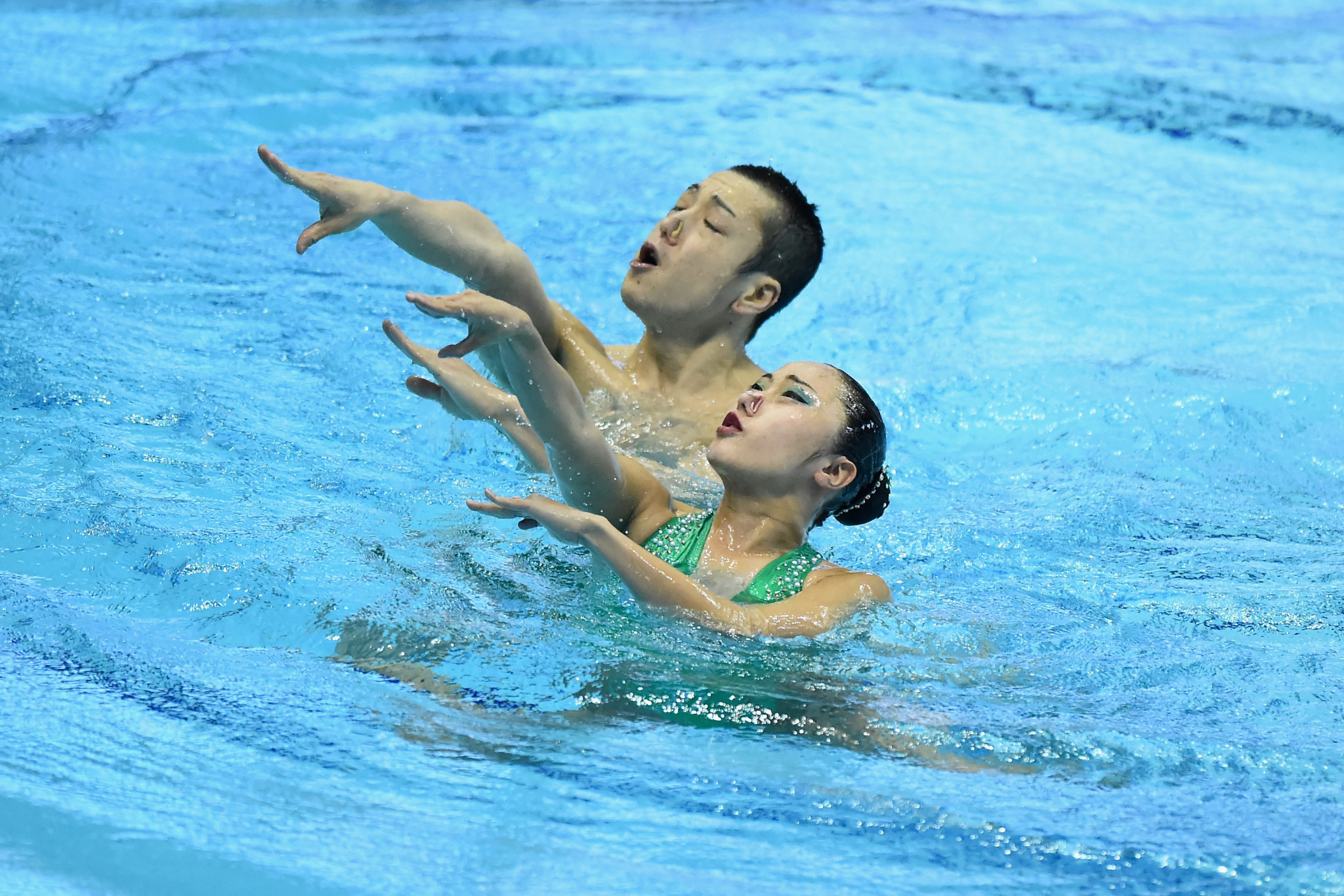 Japan and Italy earn mixed duet titles at FINA Artistic Swimming World Series in Alexandroupolis