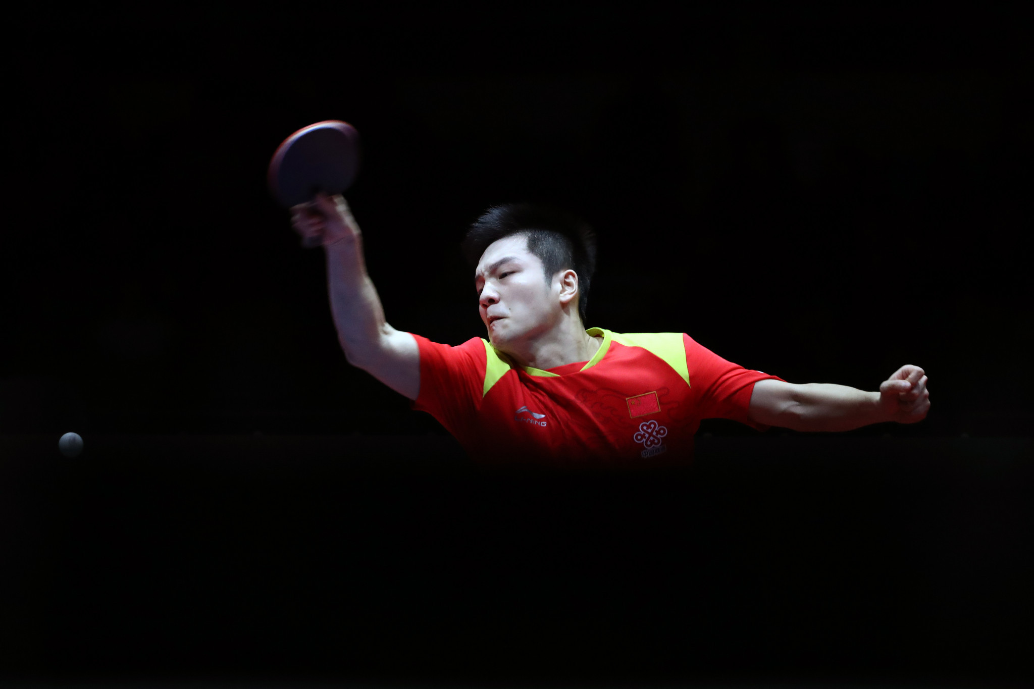 Fan Zhendong defended his men's title in Yokohama ©Getty Images