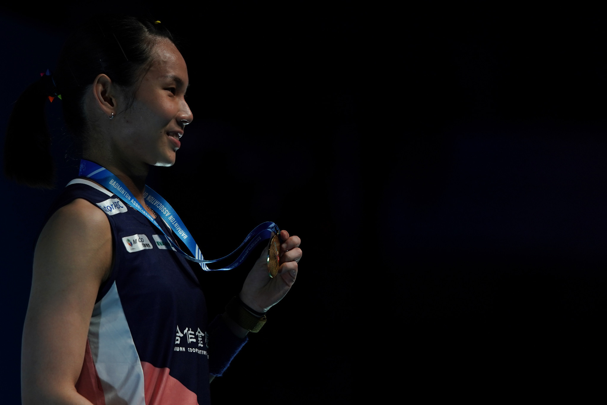 Tai Tzu-ying claimed a straight games win in the women's singles event ©Getty Images